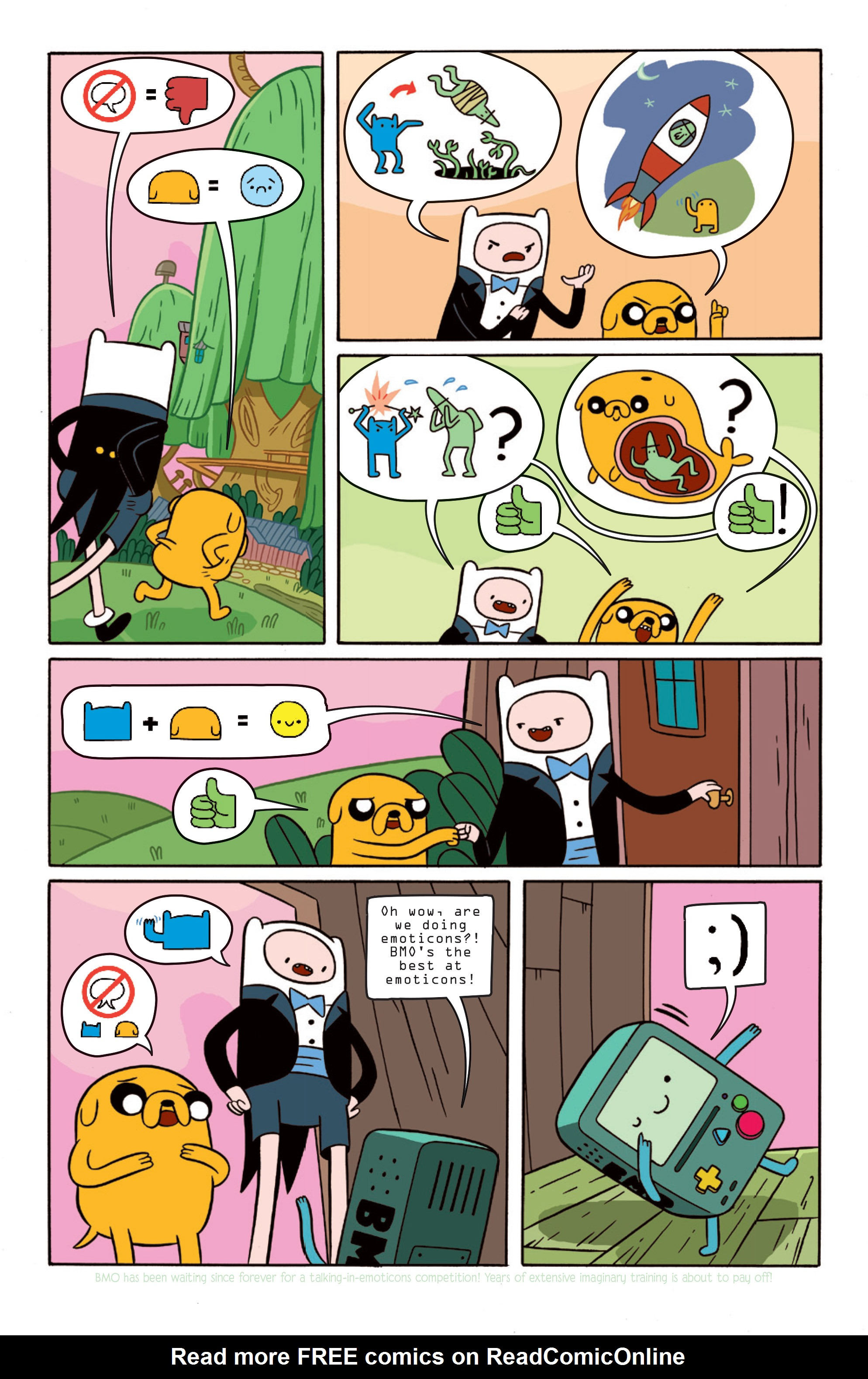 Read online Adventure Time comic -  Issue #15 - 12