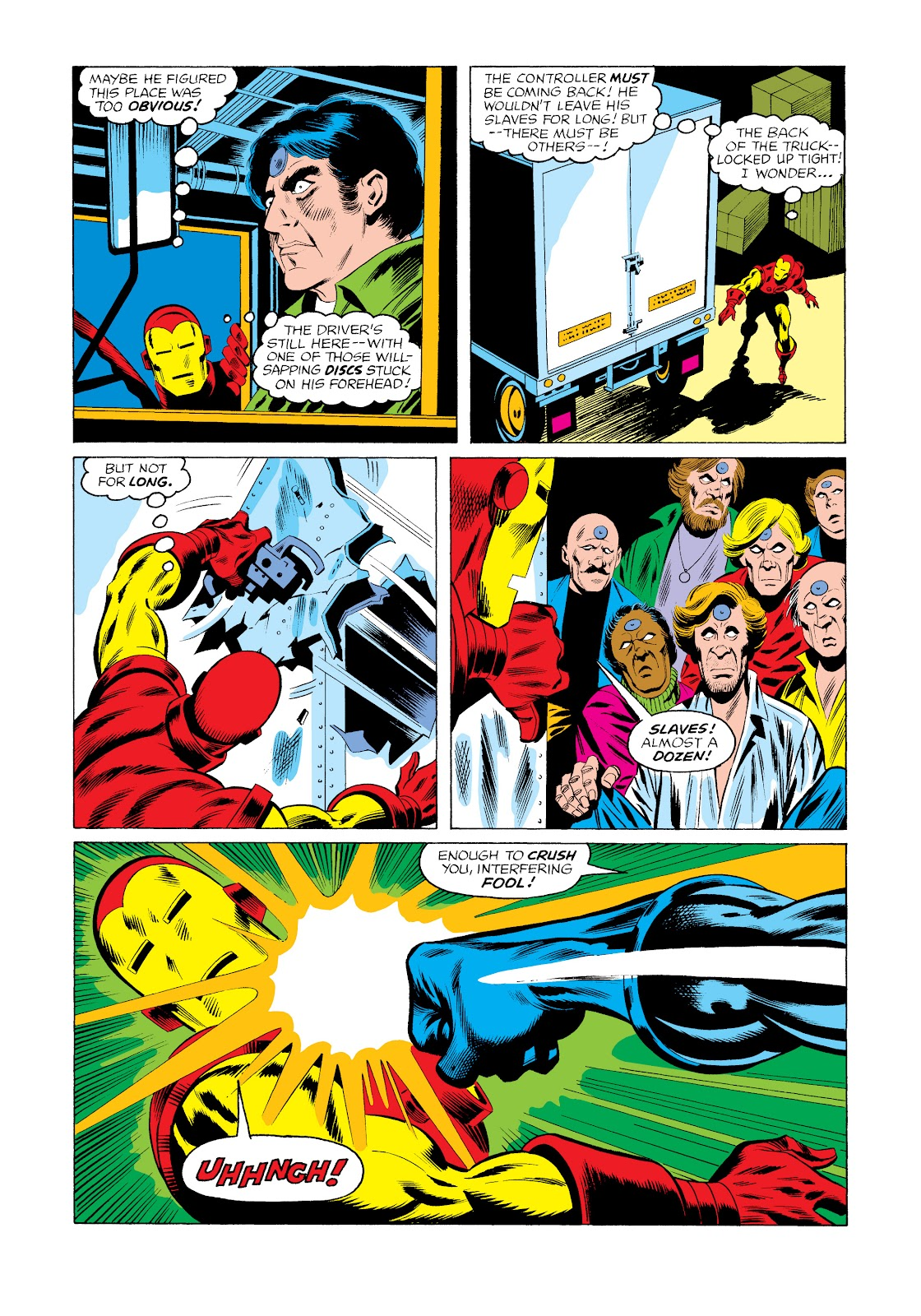 Read online Marvel Masterworks: The Invincible Iron Man comic -  Issue # TPB 11 (Part 3) - 6