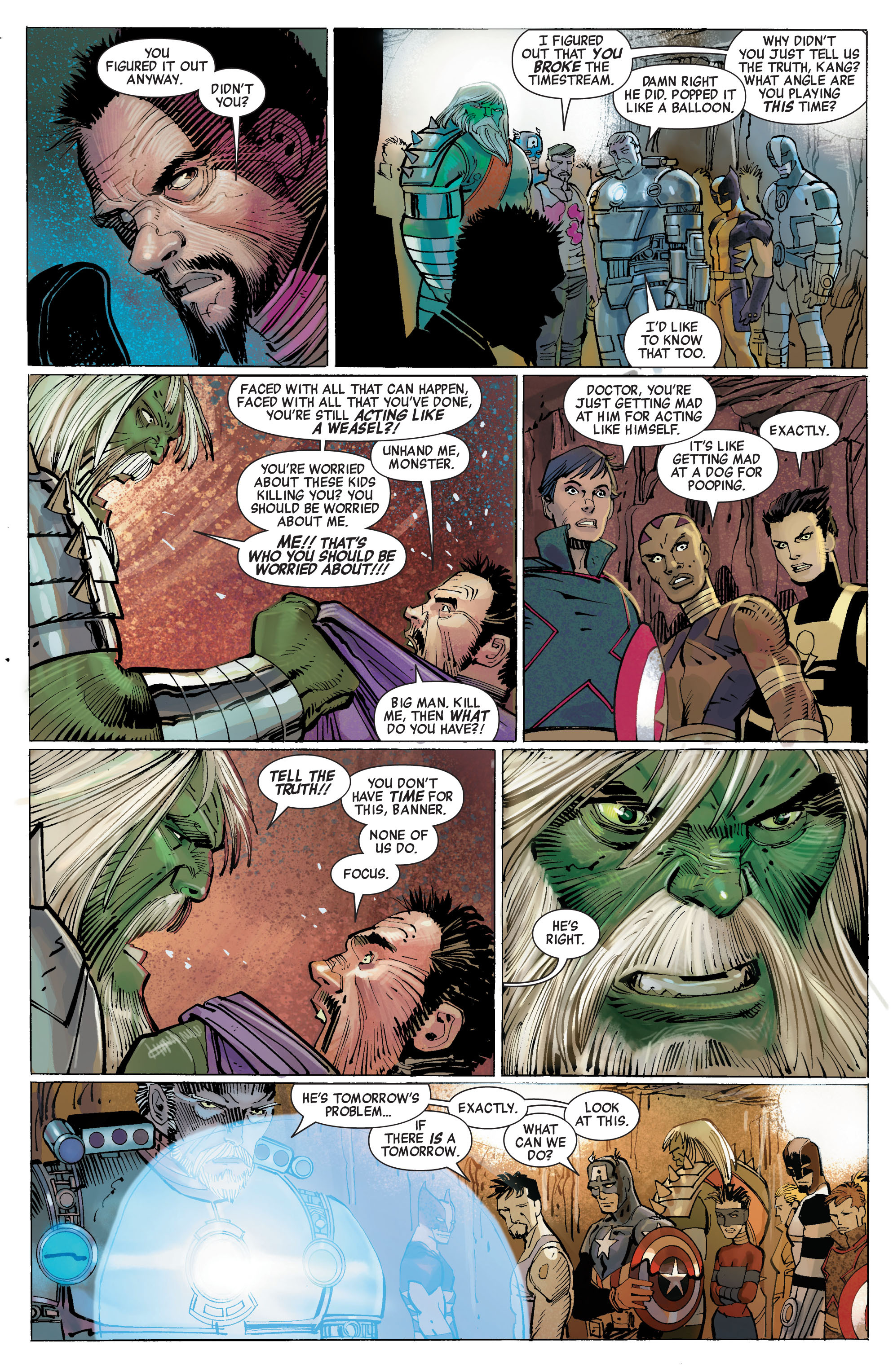 Read online Avengers (2010) comic -  Issue #5 - 9