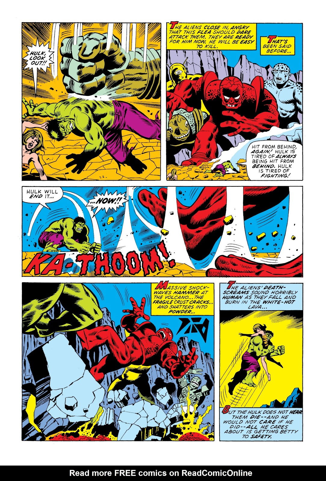 Read online Marvel Masterworks: The Incredible Hulk comic -  Issue # TPB 9 (Part 3) - 95