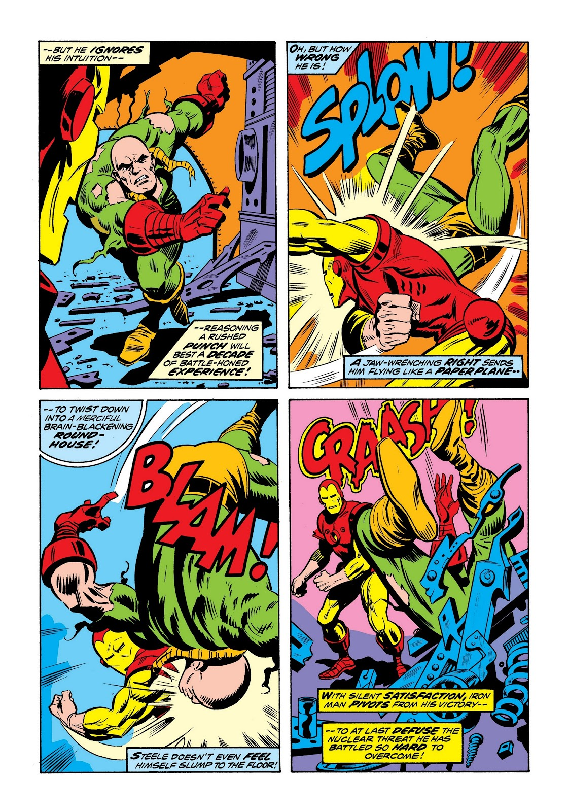 Read online Marvel Masterworks: The Invincible Iron Man comic -  Issue # TPB 9 (Part 2) - 72