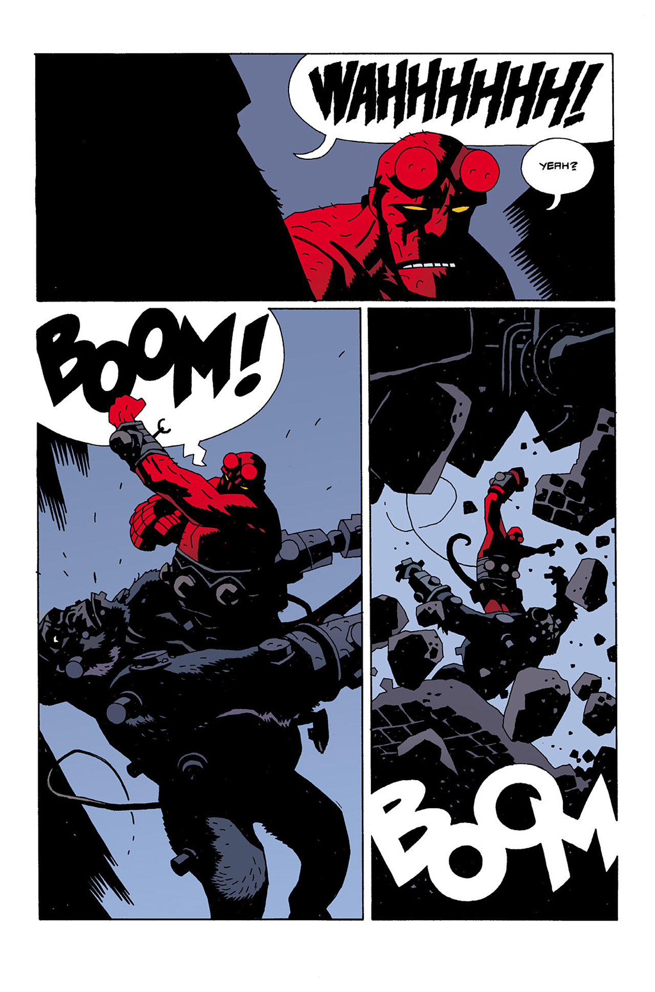 Read online Hellboy: Conqueror Worm comic -  Issue #2 - 23