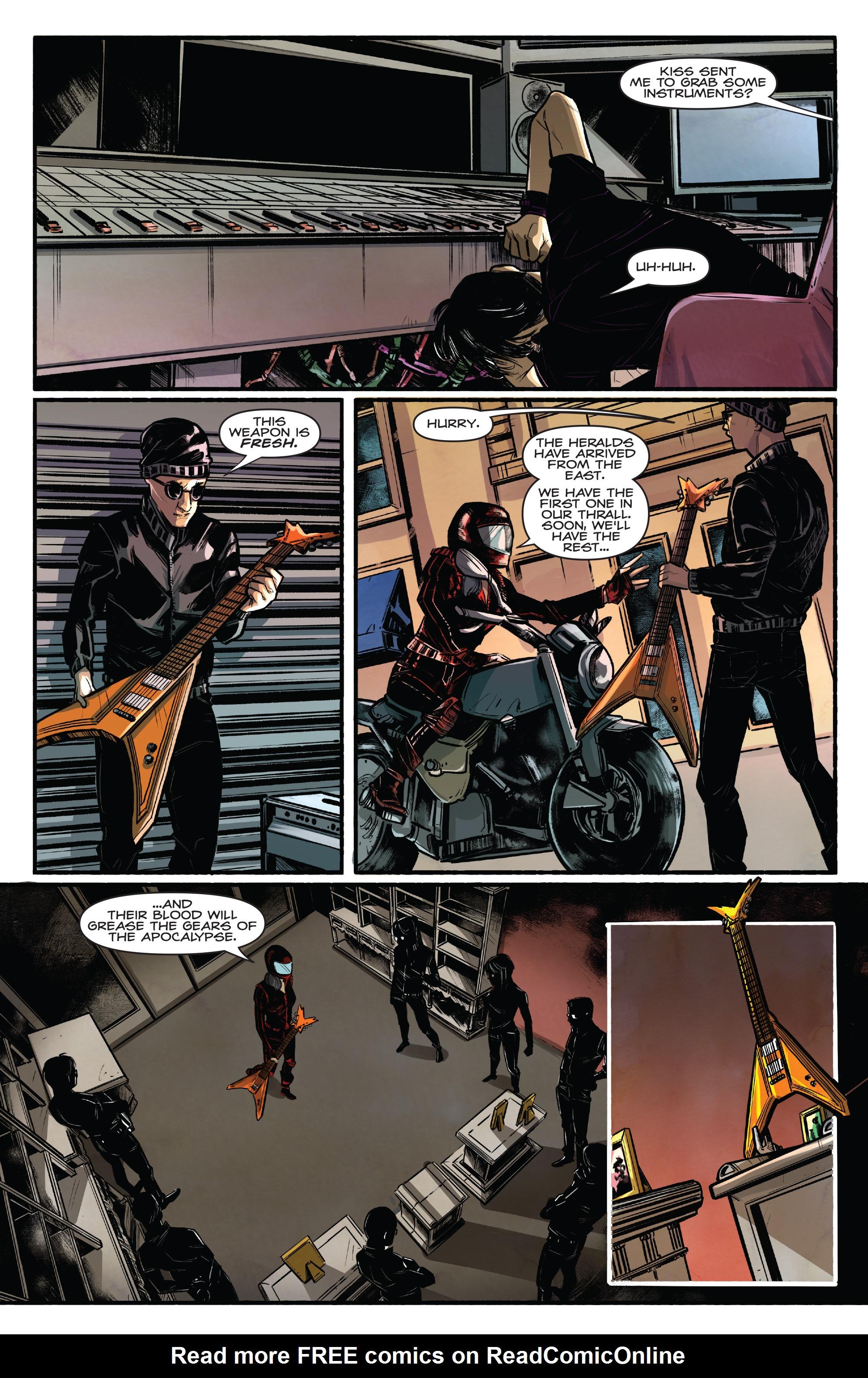 Read online Kiss/Vampirella comic -  Issue #1 - 17