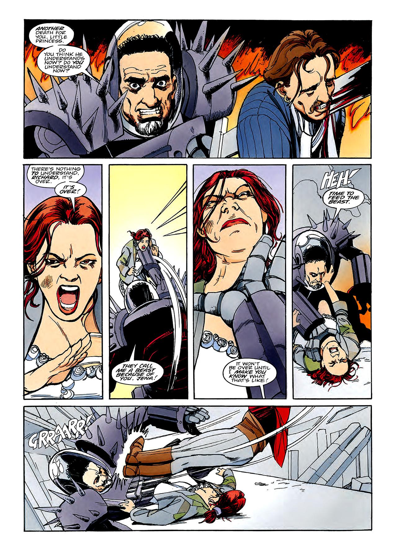 Read online Nikolai Dante comic -  Issue # TPB 3 - 116