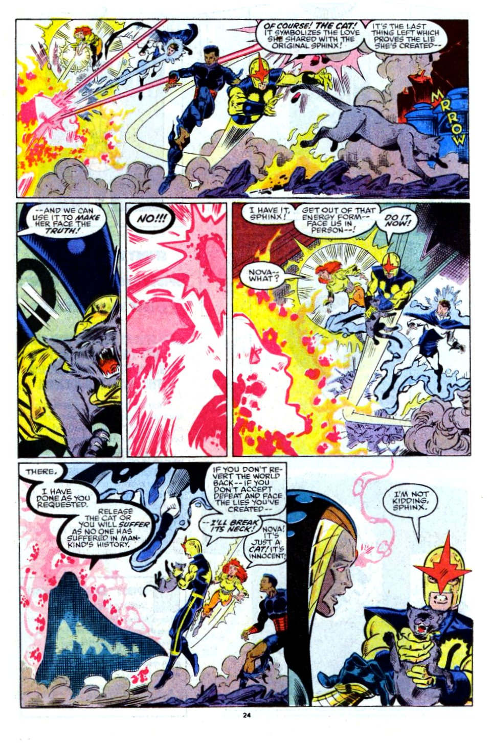 The New Warriors Issue #13 #17 - English 19