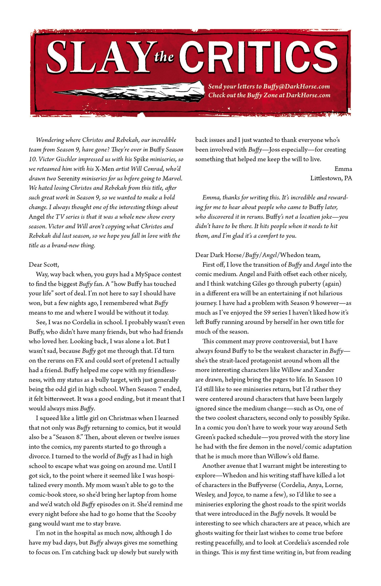 Read online Angel & Faith Season 10 comic -  Issue #1 - 25