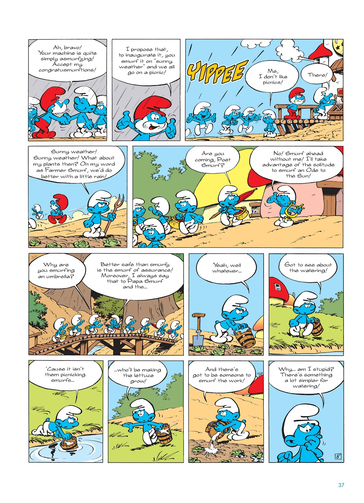 Read online The Smurfs comic -  Issue #14 - 38