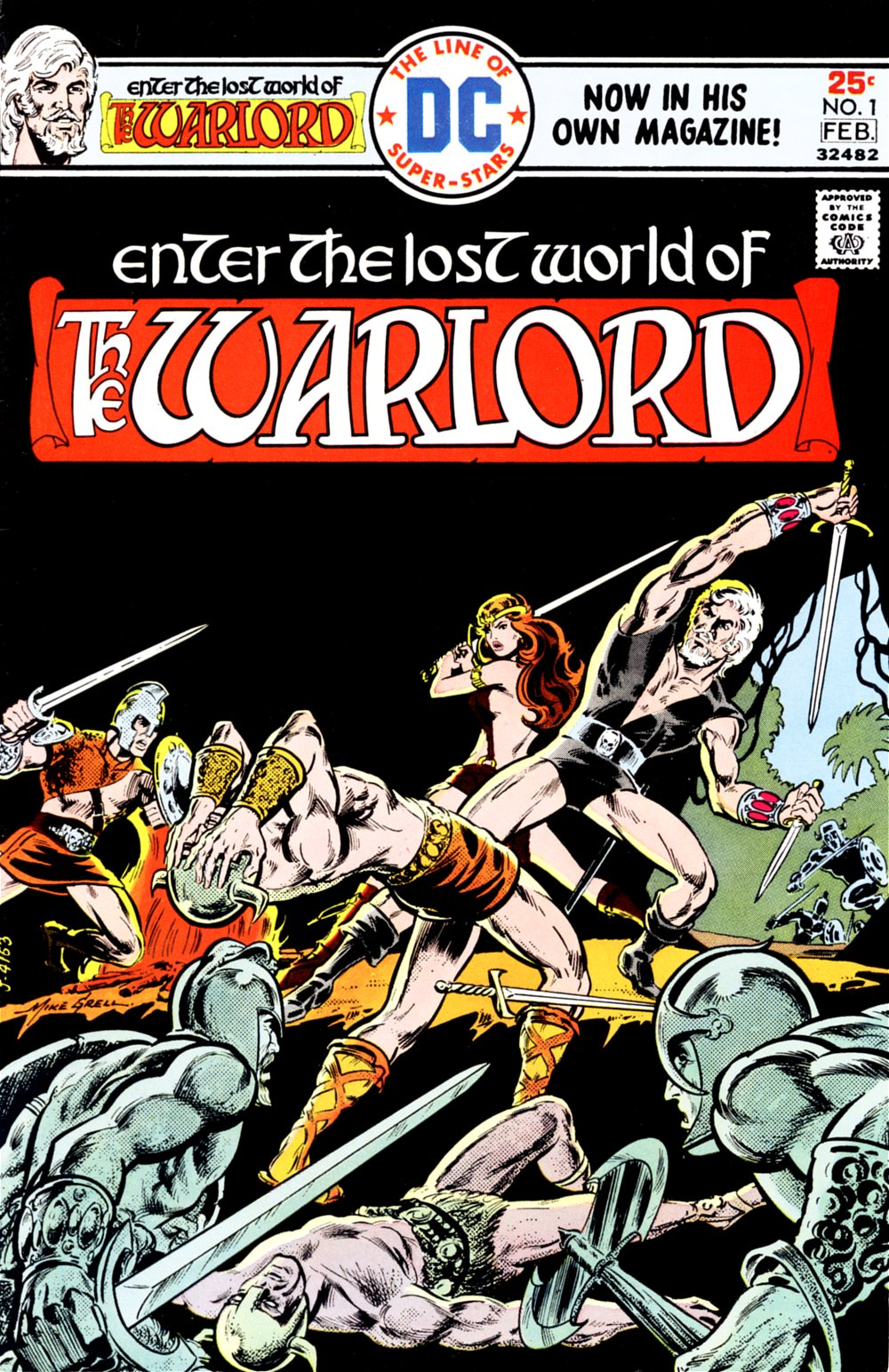Warlord (1976) issue 1 - Page 1