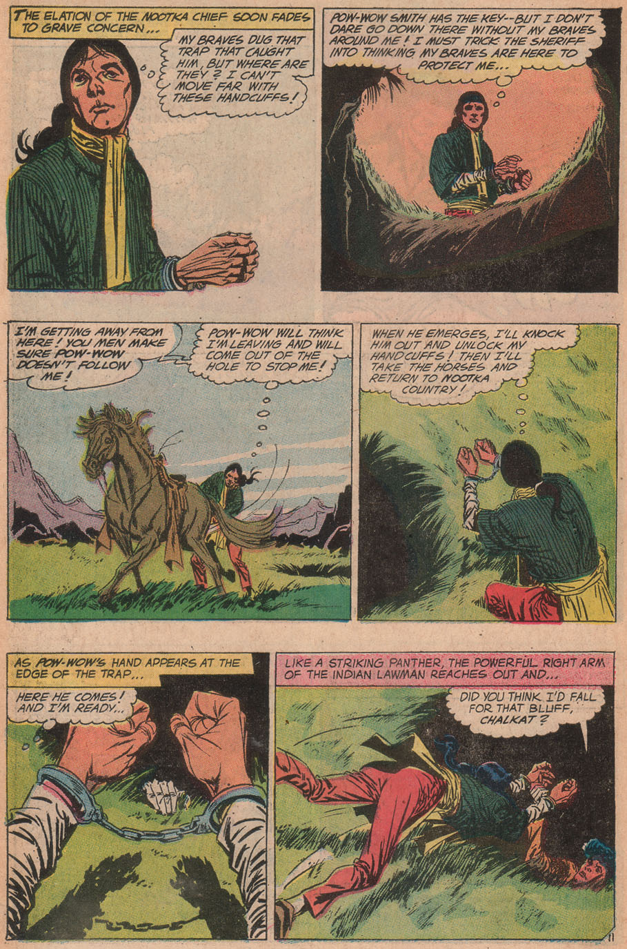Read online All-Star Western (1970) comic -  Issue #9 - 14