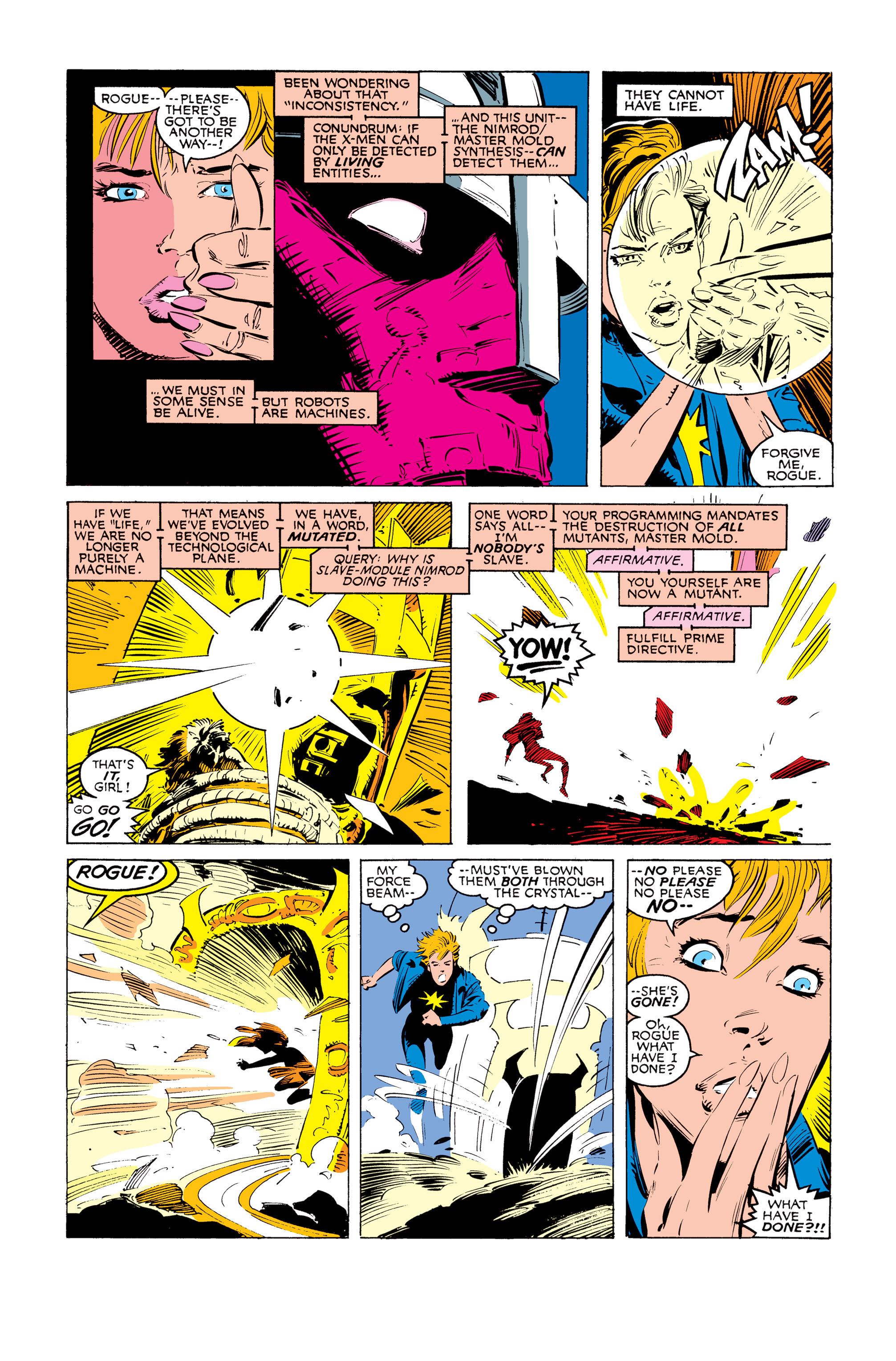 Read online Uncanny X-Men (1963) comic -  Issue #247 - 21