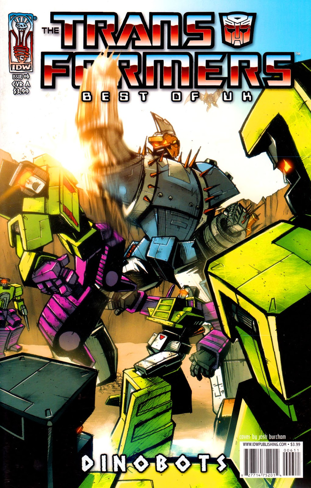 Read online The Transformers: Best of UK: Dinobots comic -  Issue #6 - 1