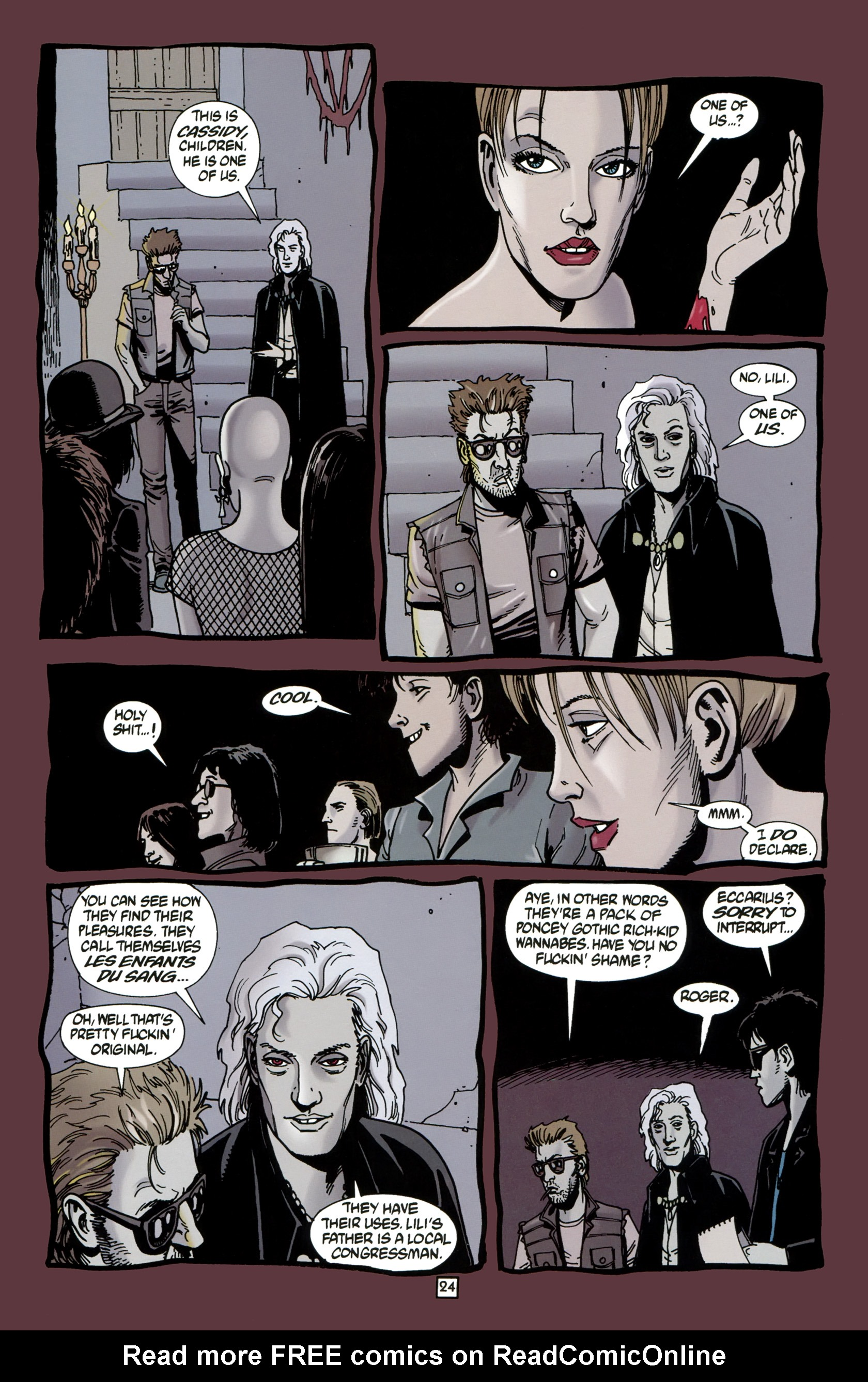 Read online Preacher Special: Cassidy : Blood and Whiskey comic -  Issue # Full - 26
