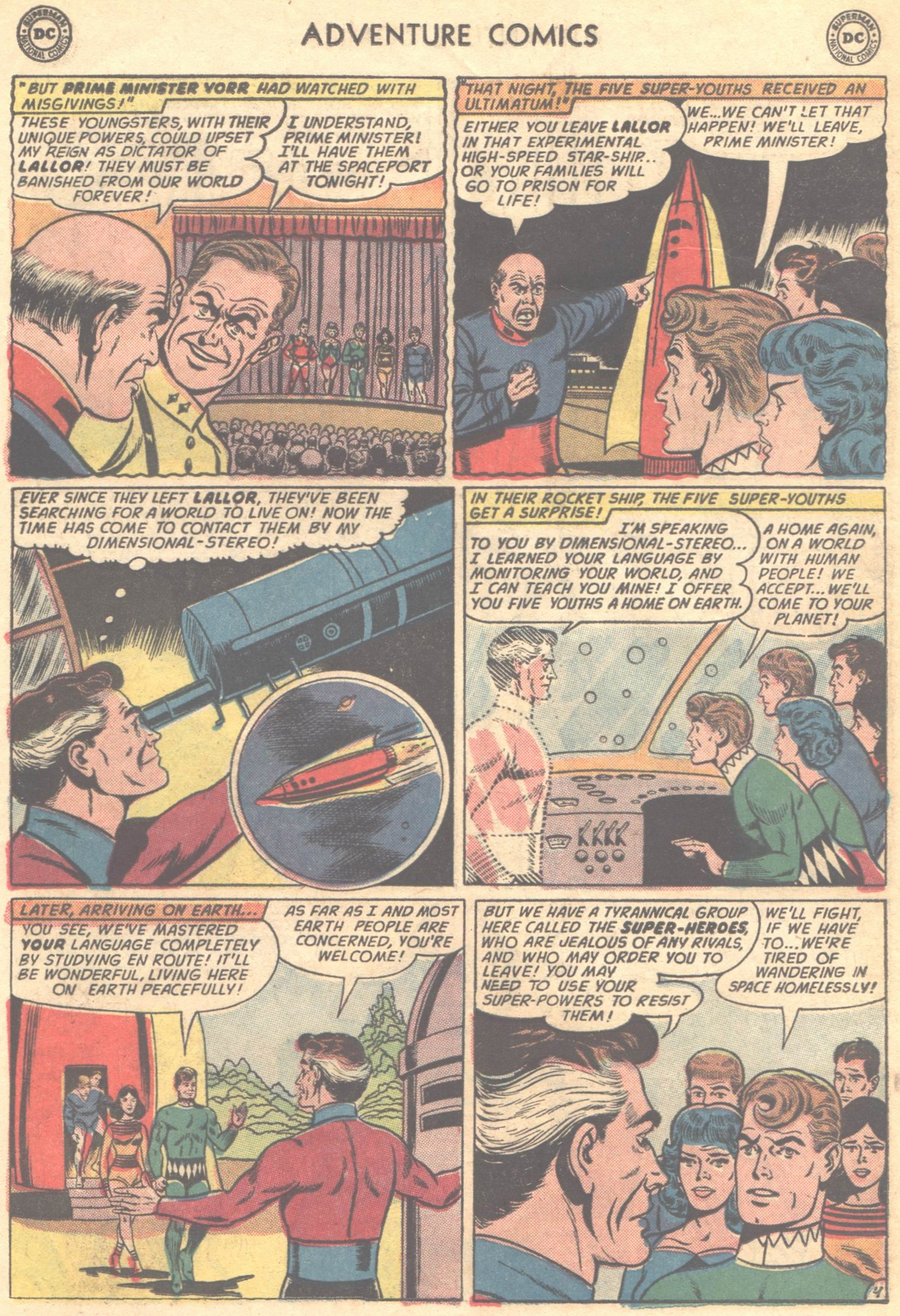 Read online Adventure Comics (1938) comic -  Issue #324 - 6