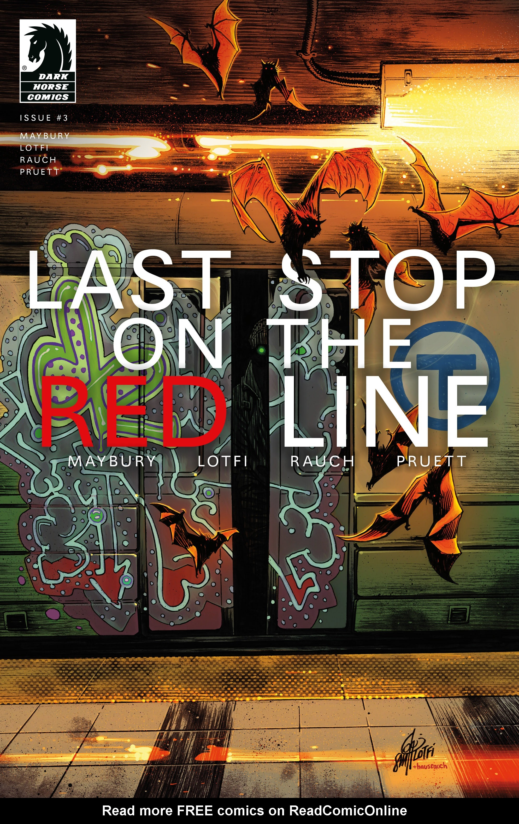 Last Stop On the Red Line 3 Page 1