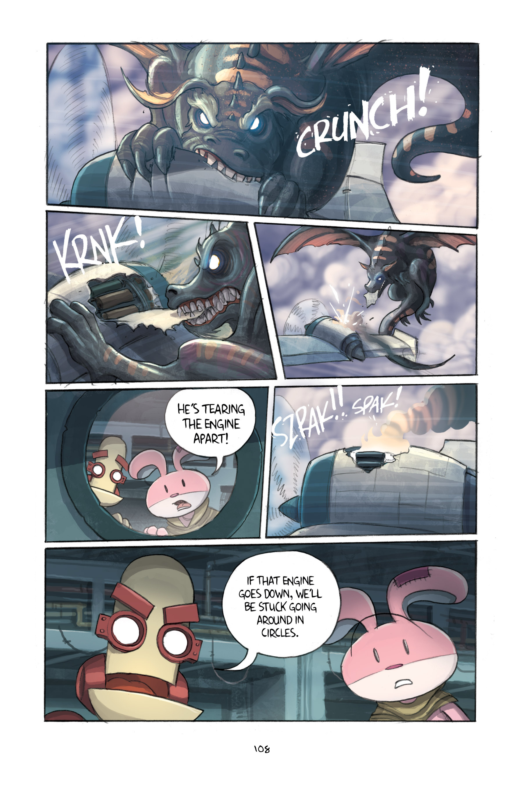 Read online Amulet comic -  Issue #3 - 106