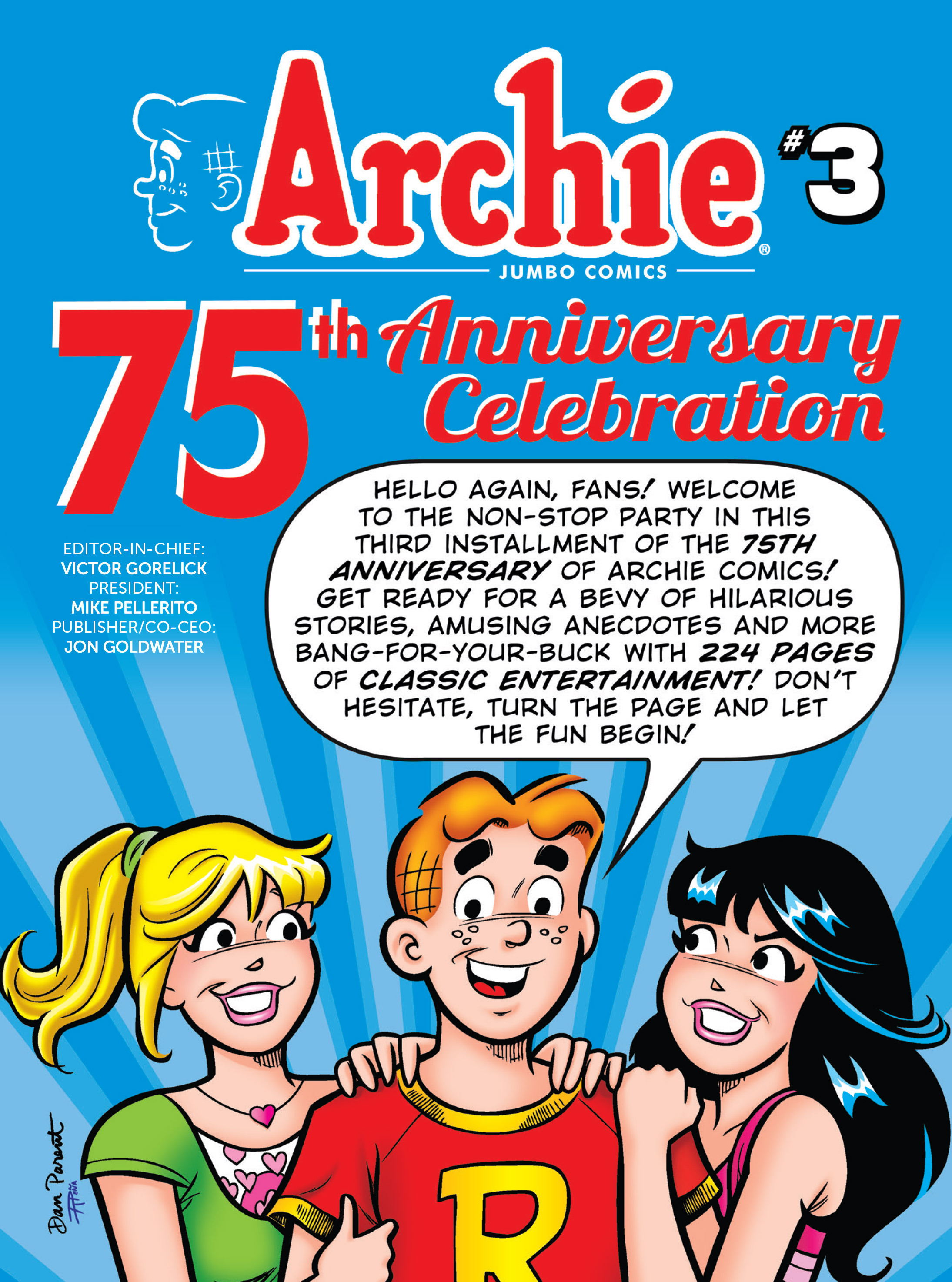Read online Archie 75th Anniversary Digest comic -  Issue #3 - 2