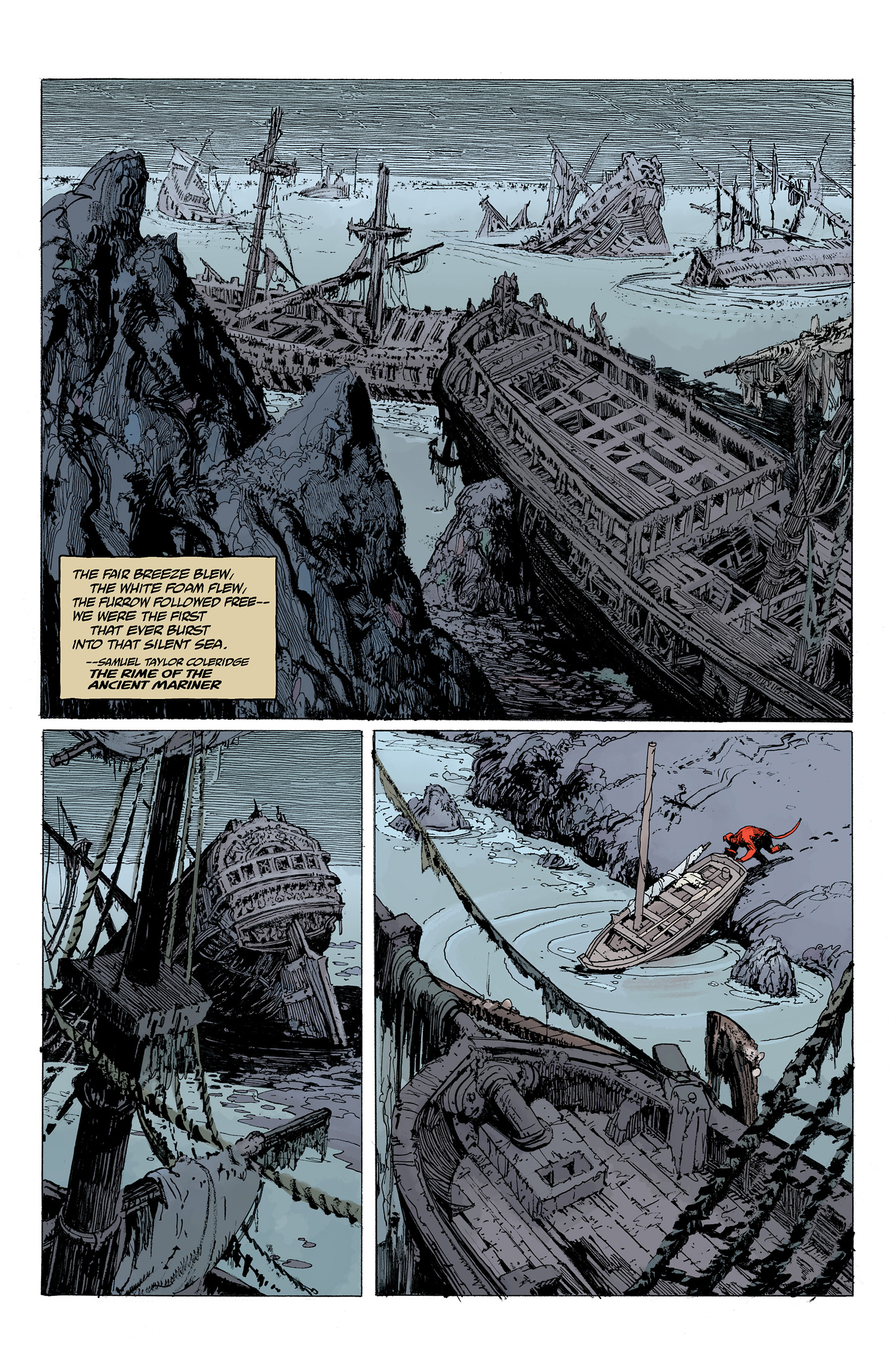 Read online Hellboy: Into the Silent Sea comic -  Issue # Full - 9