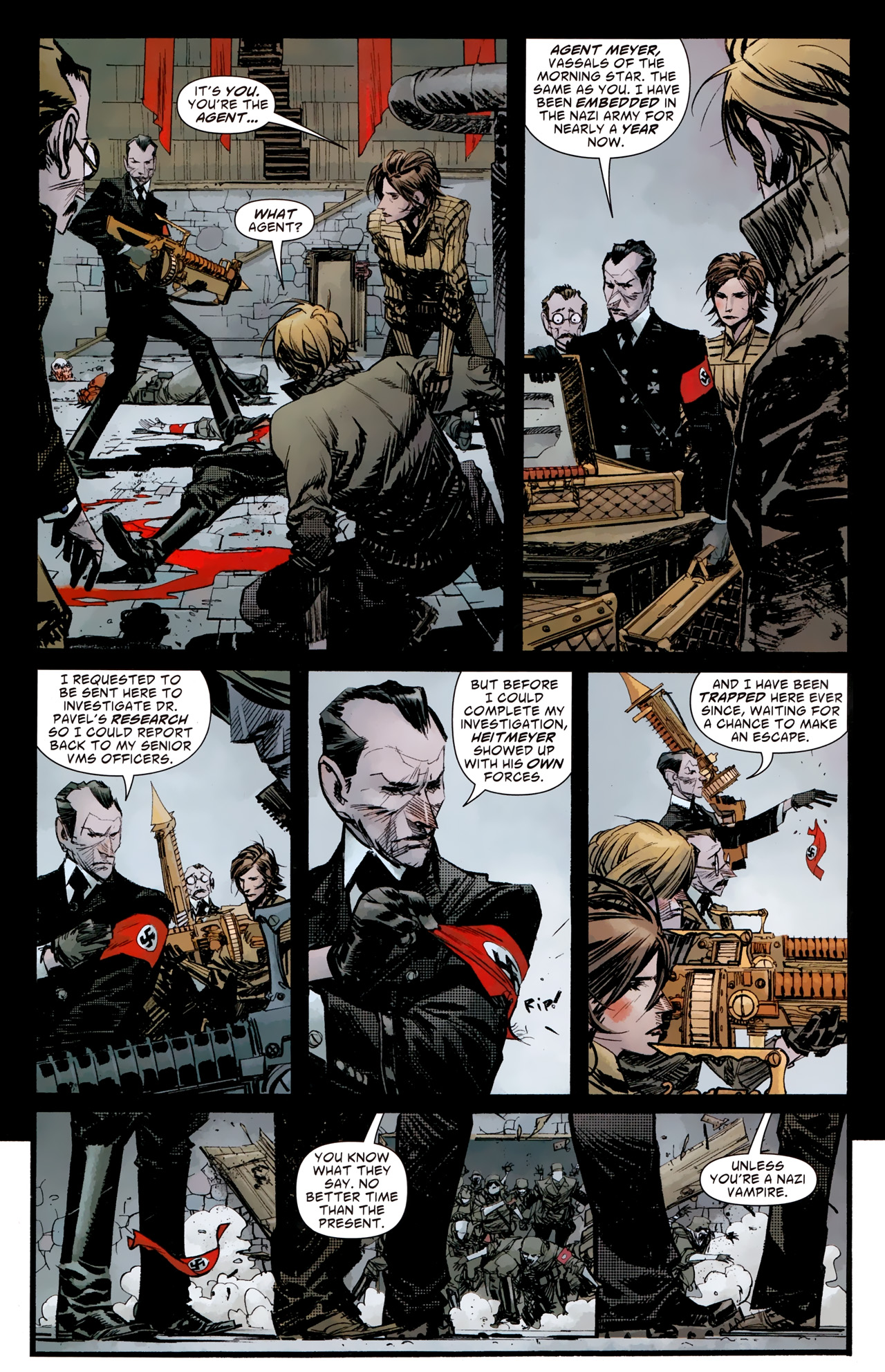 Read online American Vampire: Survival of the Fittest comic -  Issue #4 - 17
