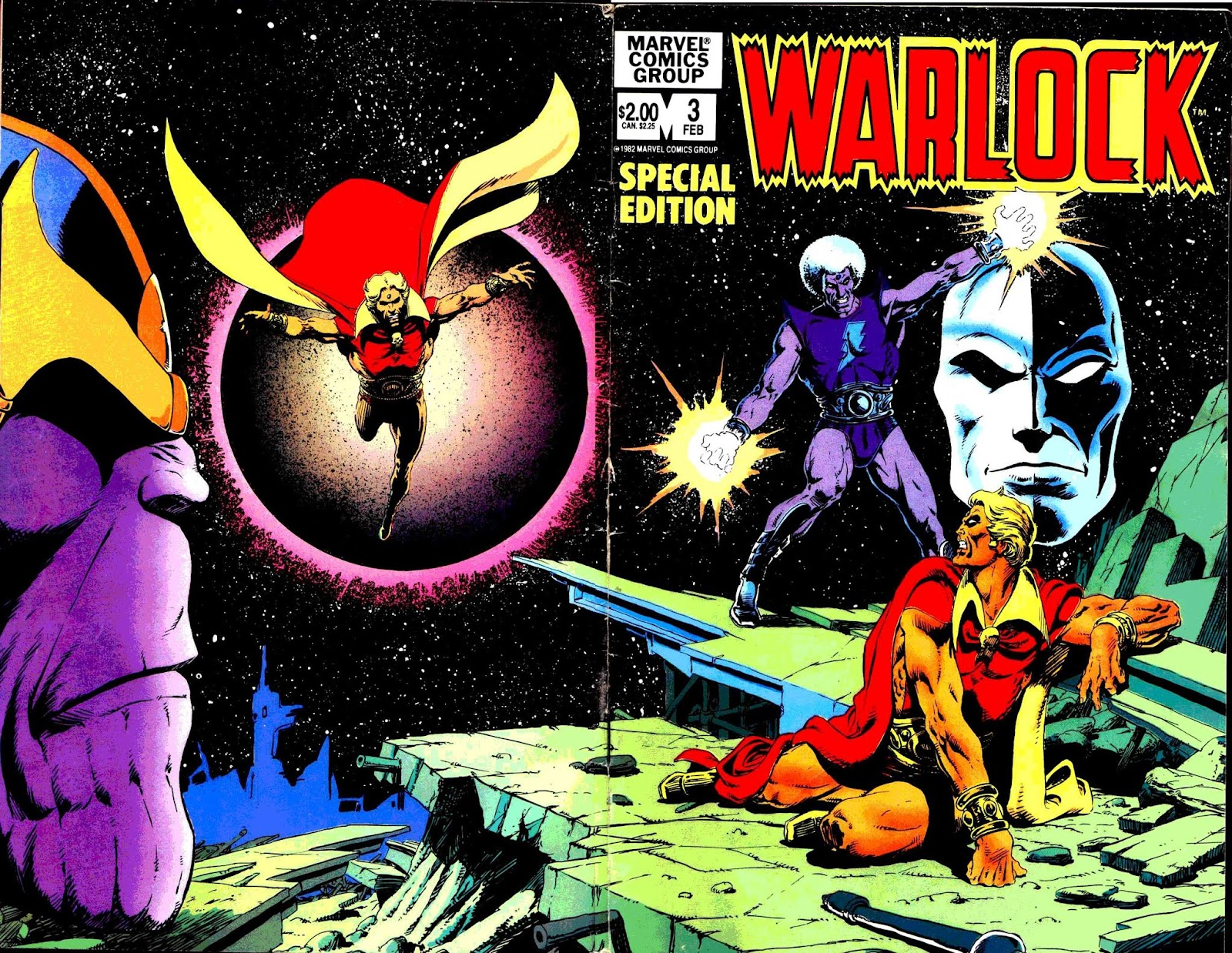 Warlock (1982) issue 3 - Page 1