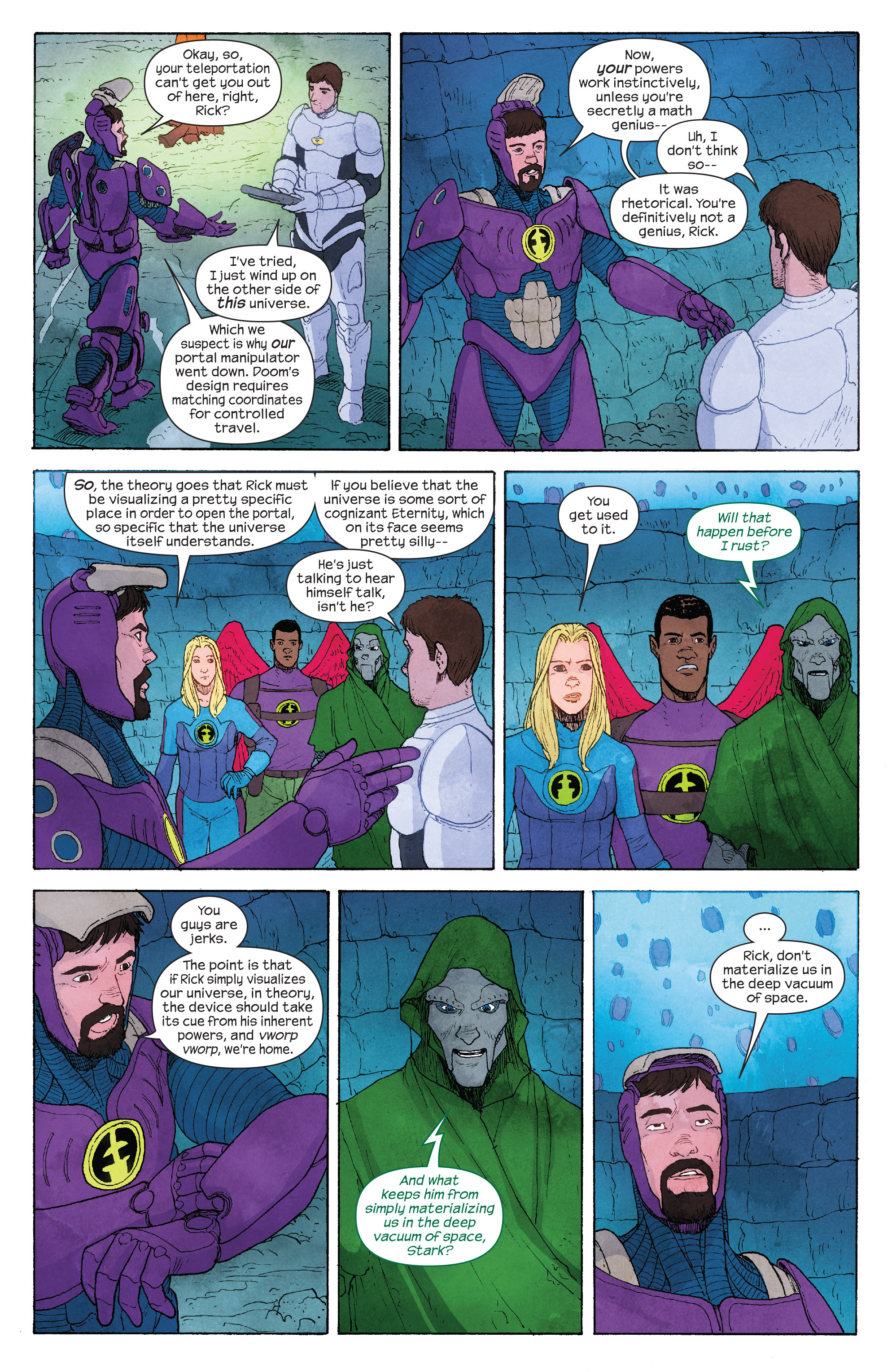 Read online Ultimate FF comic -  Issue #4 - 9