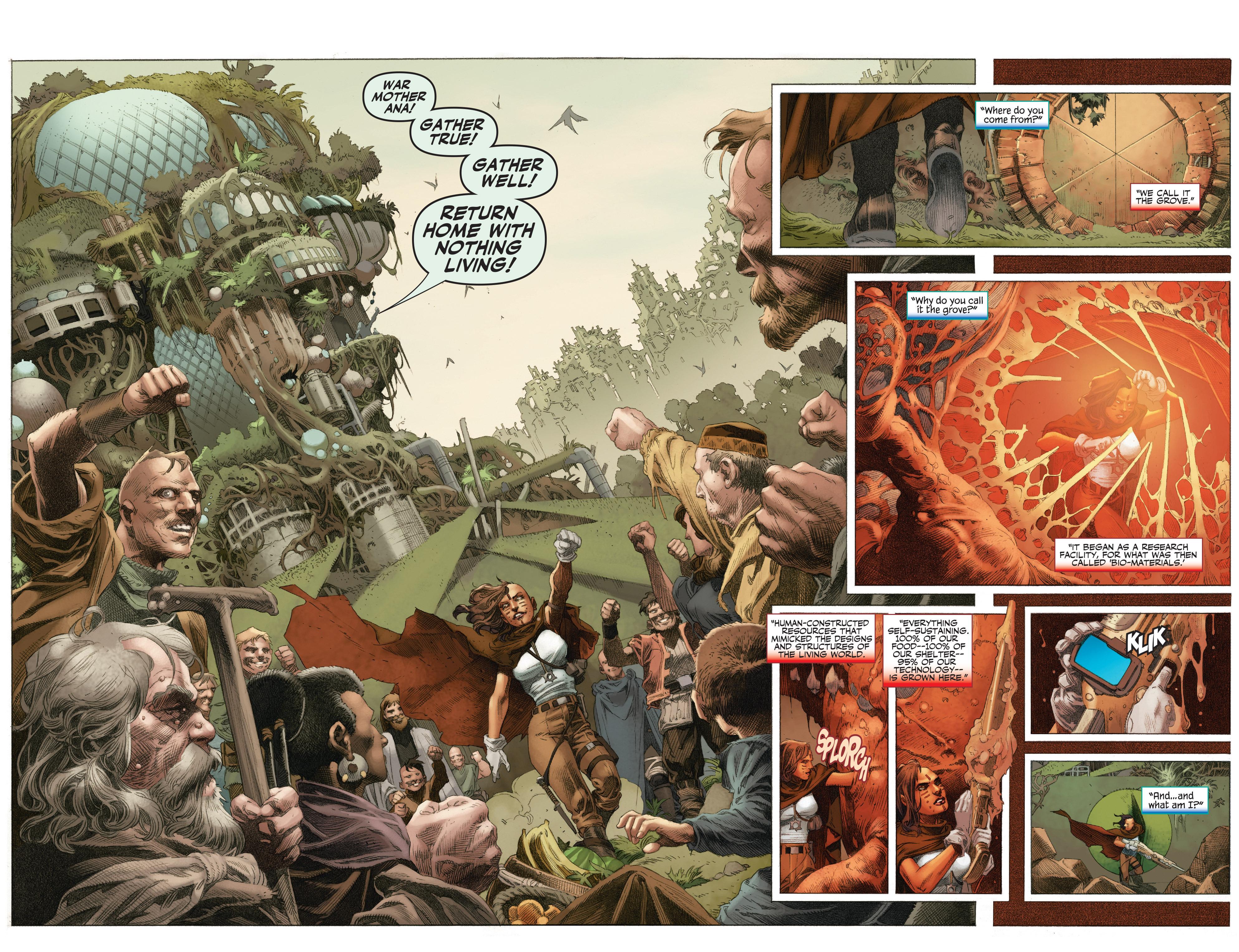 Read online 4001 A.D.: War Mother comic -  Issue #4001 A.D.: War Mother Full - 6