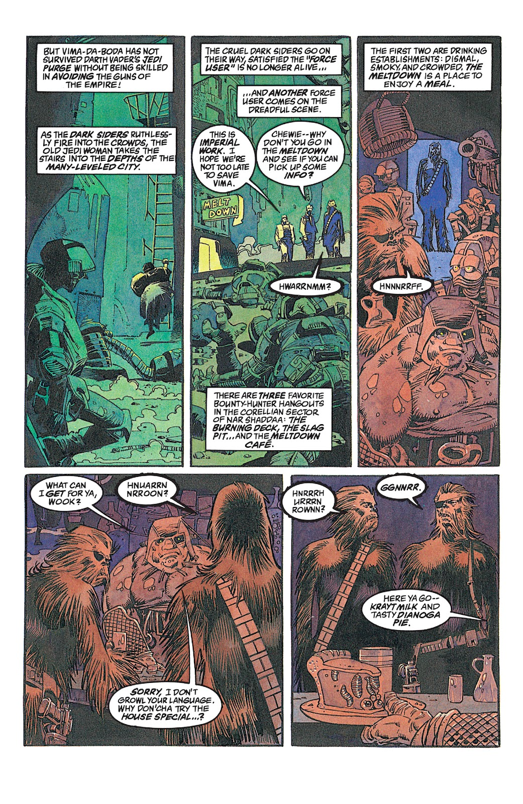 Read online Star Wars: Dark Empire Trilogy comic -  Issue # TPB (Part 2) - 91