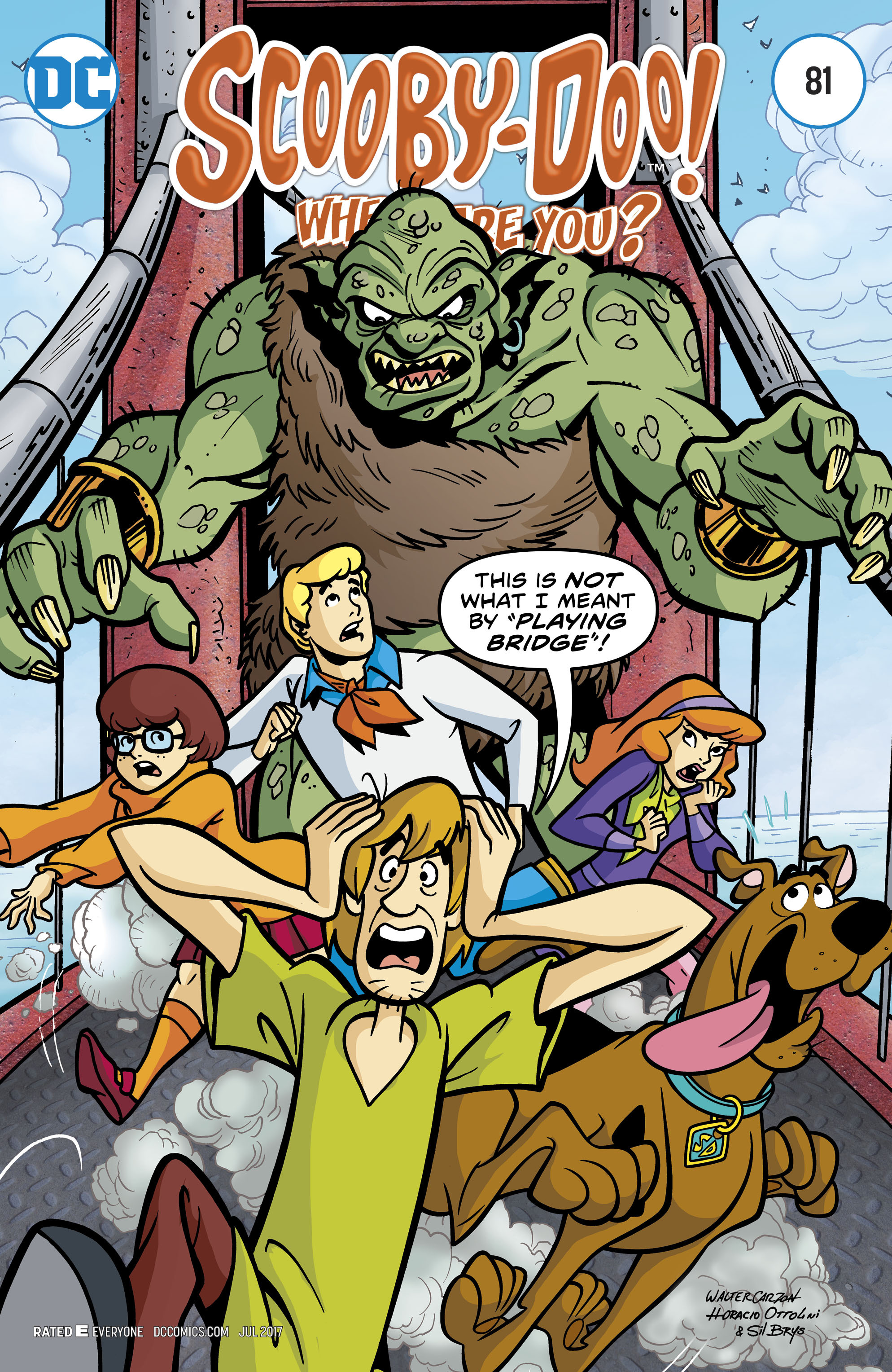 Read online Scooby-Doo: Where Are You? comic -  Issue #81 - 1