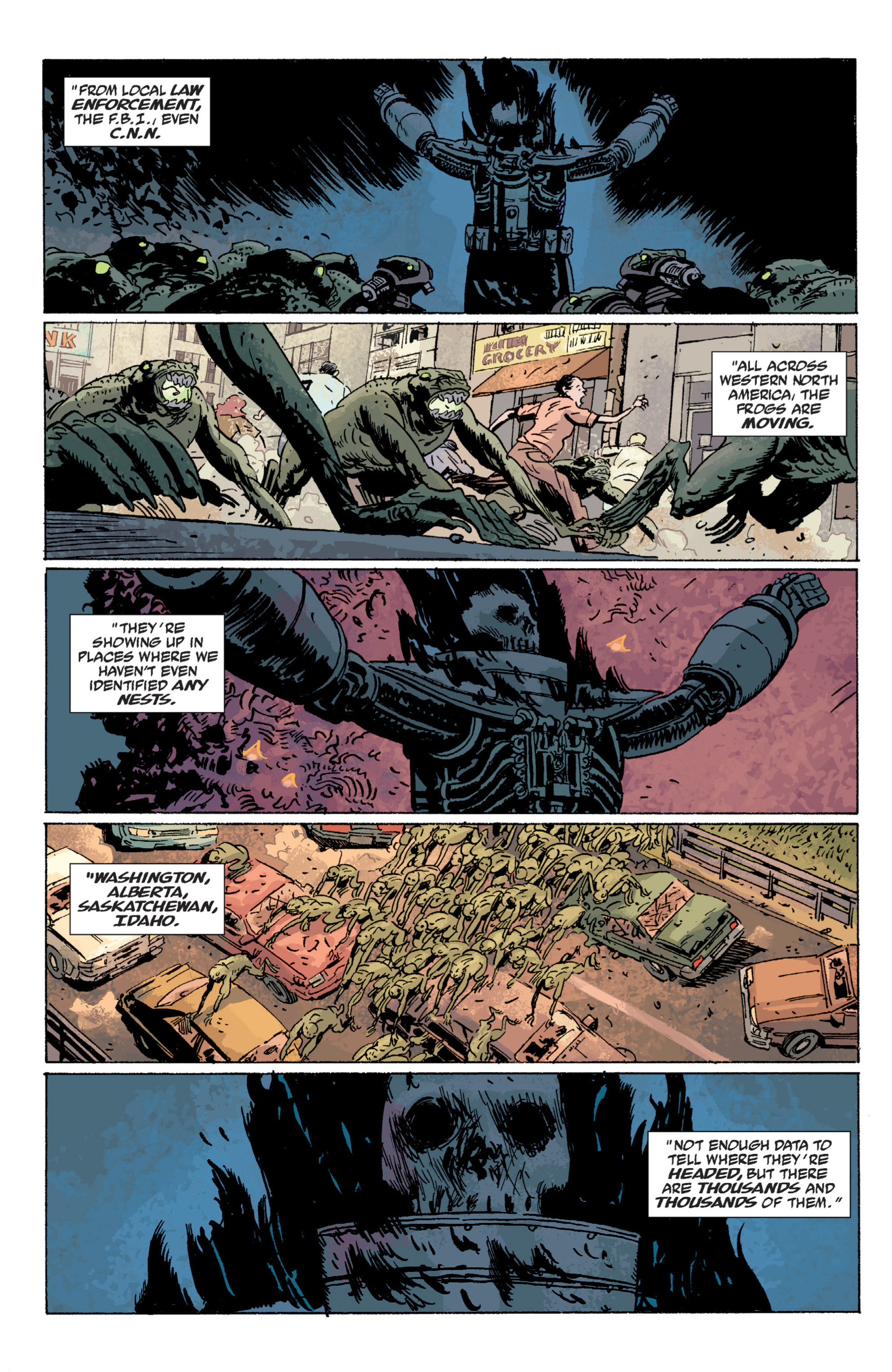 Read online B.P.R.D. (2003) comic -  Issue # TPB 5 - 101