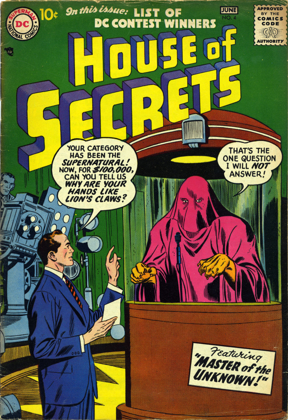 House of Secrets (1956) issue 4 - Page 1