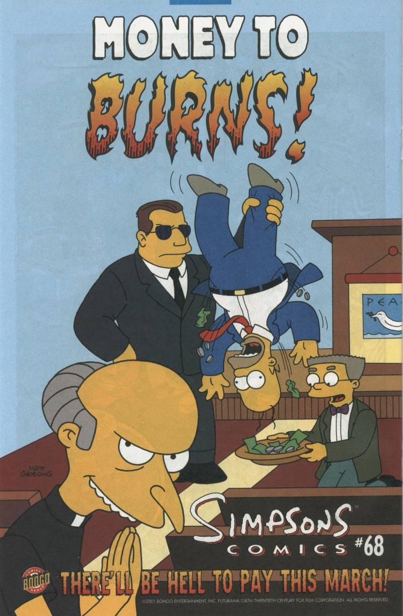 Read online Simpsons Comics comic -  Issue #67 - 25