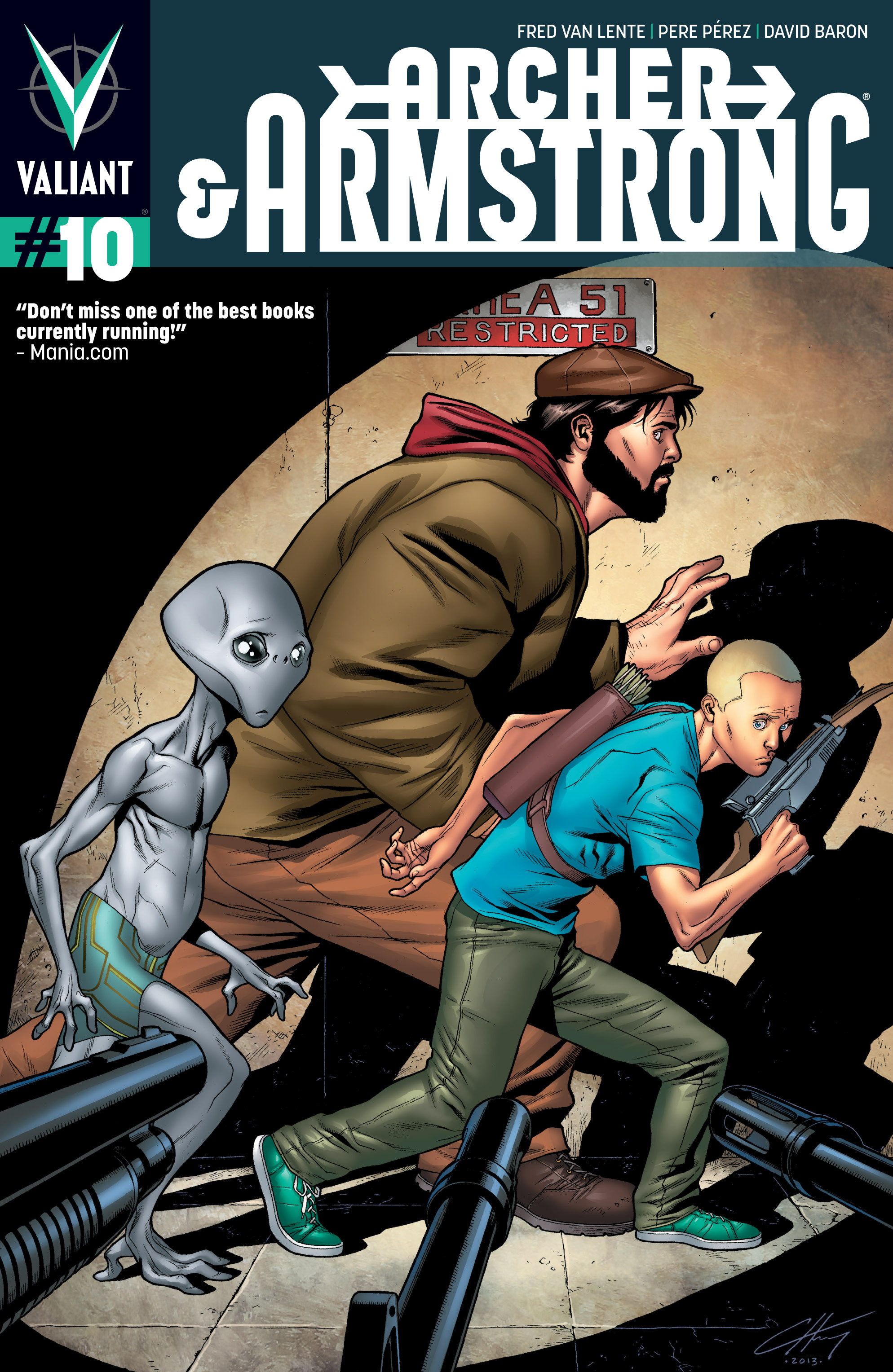 Read online Archer and Armstrong comic -  Issue #10 - 1
