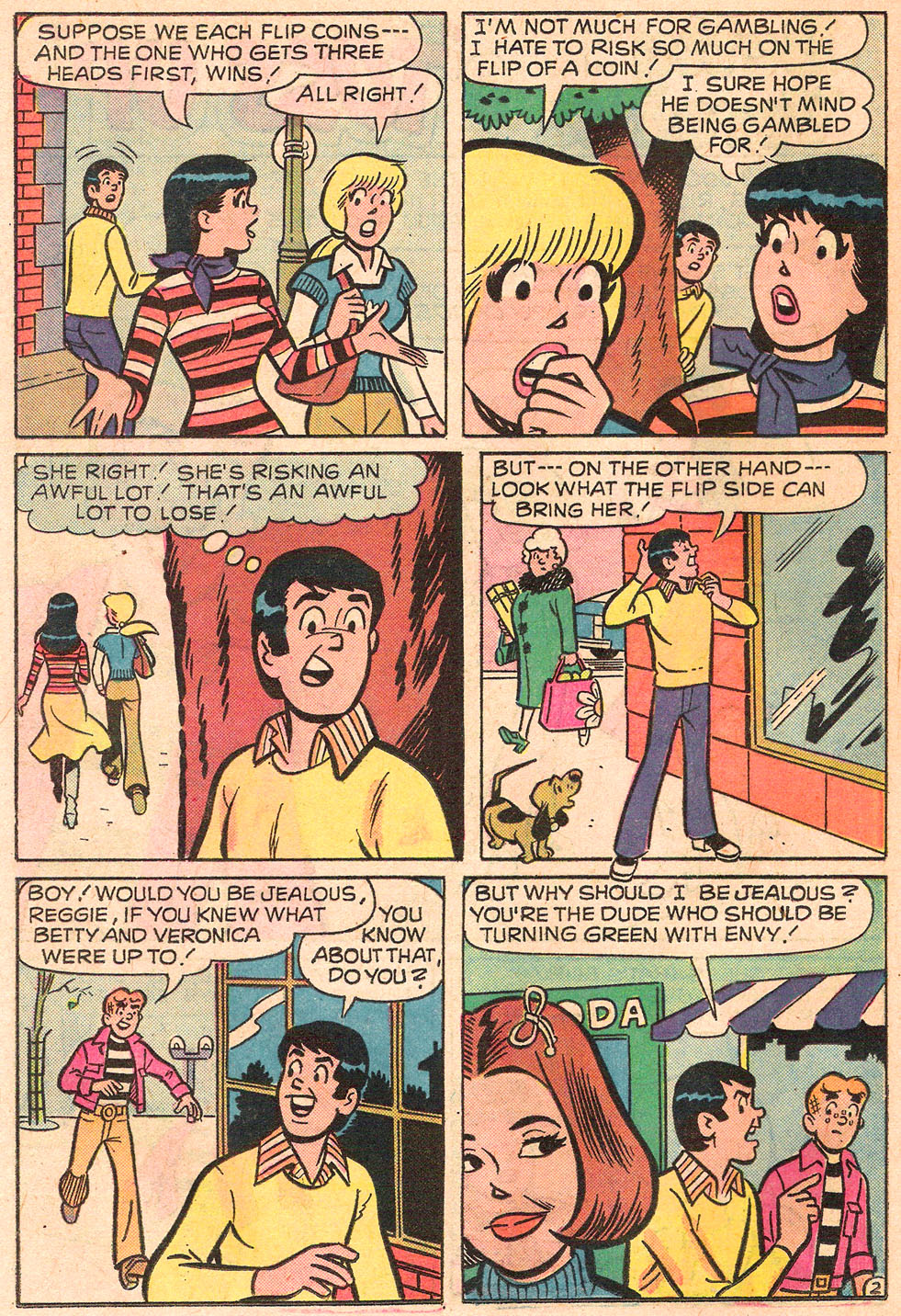 Read online Archie's Girls Betty and Veronica comic -  Issue #242 - 14