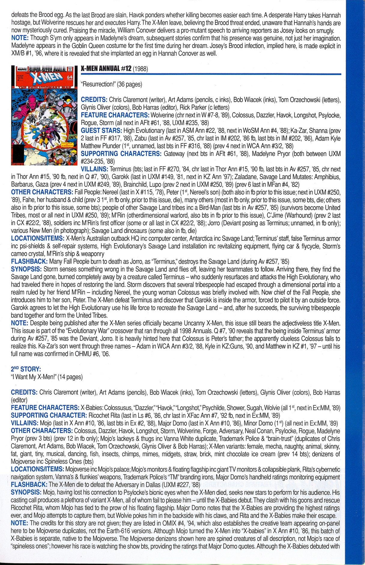Read online Official Index to the Marvel Universe comic -  Issue #6 - 47