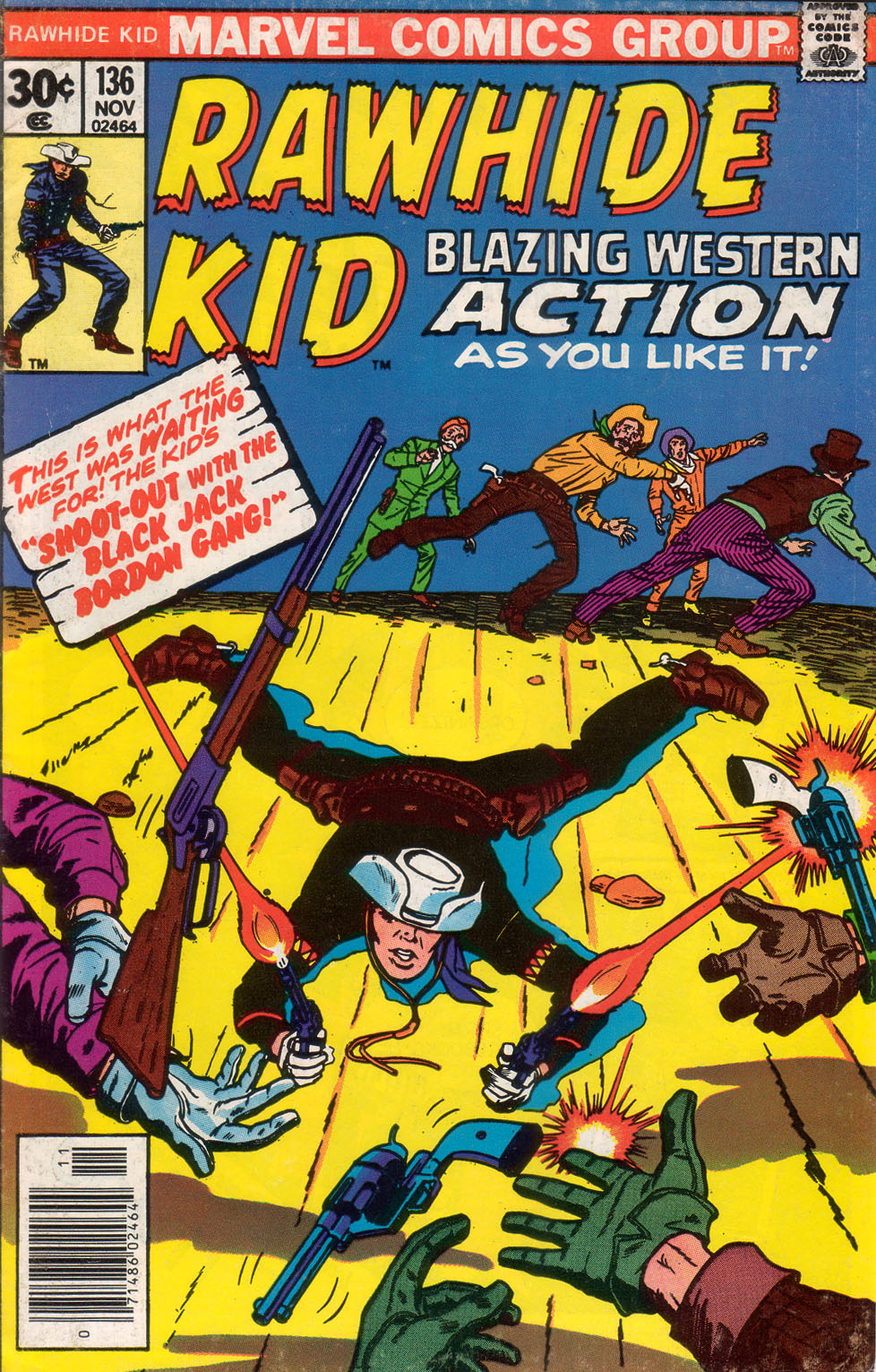 The Rawhide Kid (1955) issue 136 - Page 1