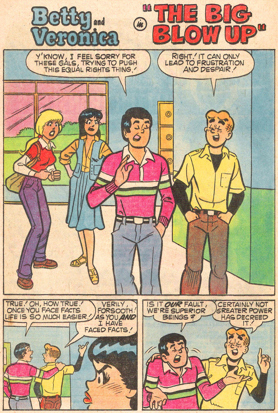 Read online Archie's Girls Betty and Veronica comic -  Issue #272 - 20