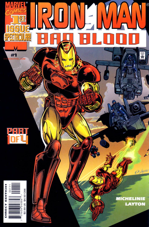 Iron Man: Bad Blood 1 Page 1