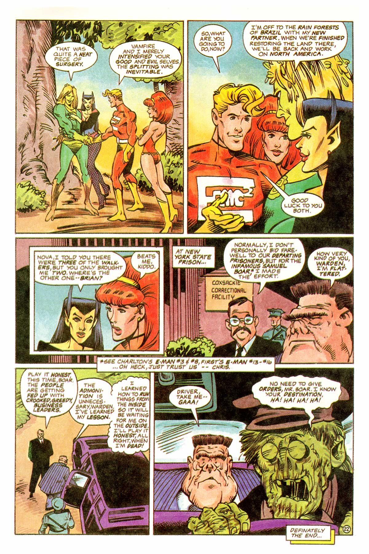Read online E-man (1993) comic -  Issue # Full - 25