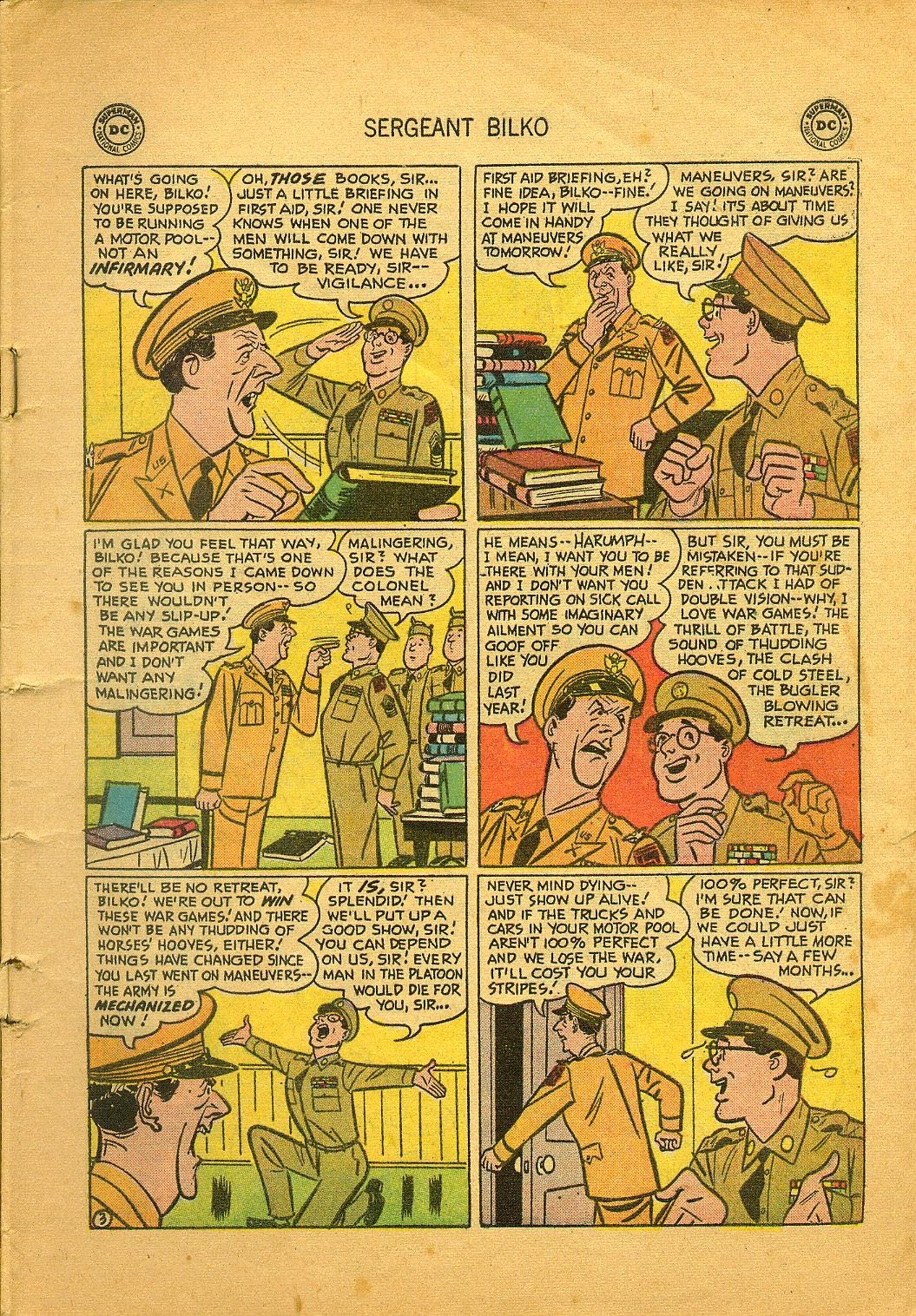 Sergeant Bilko issue 1 - Page 5