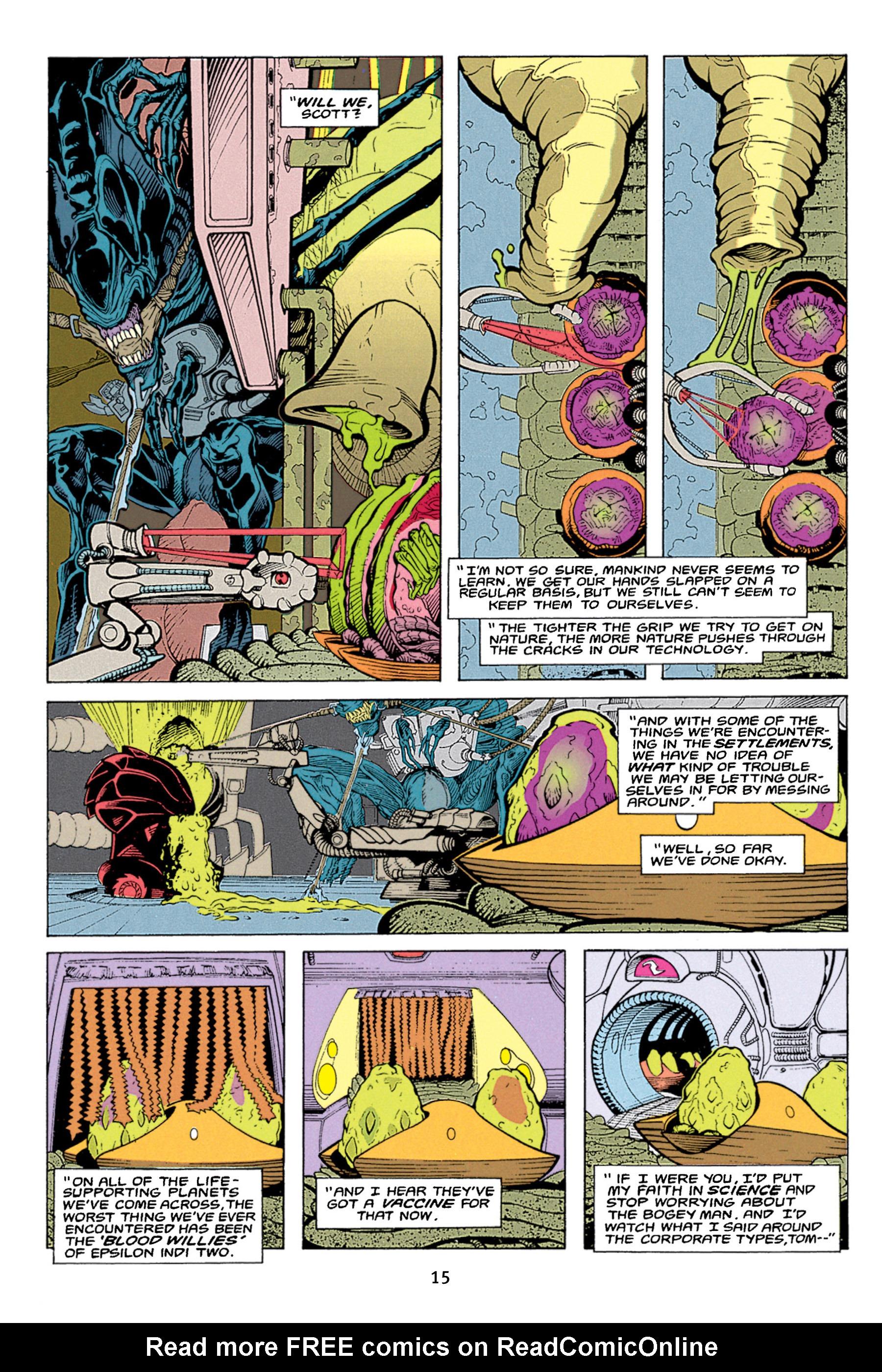 Read online Aliens vs. Predator Omnibus comic -  Issue # _TPB 1 Part 1 - 15