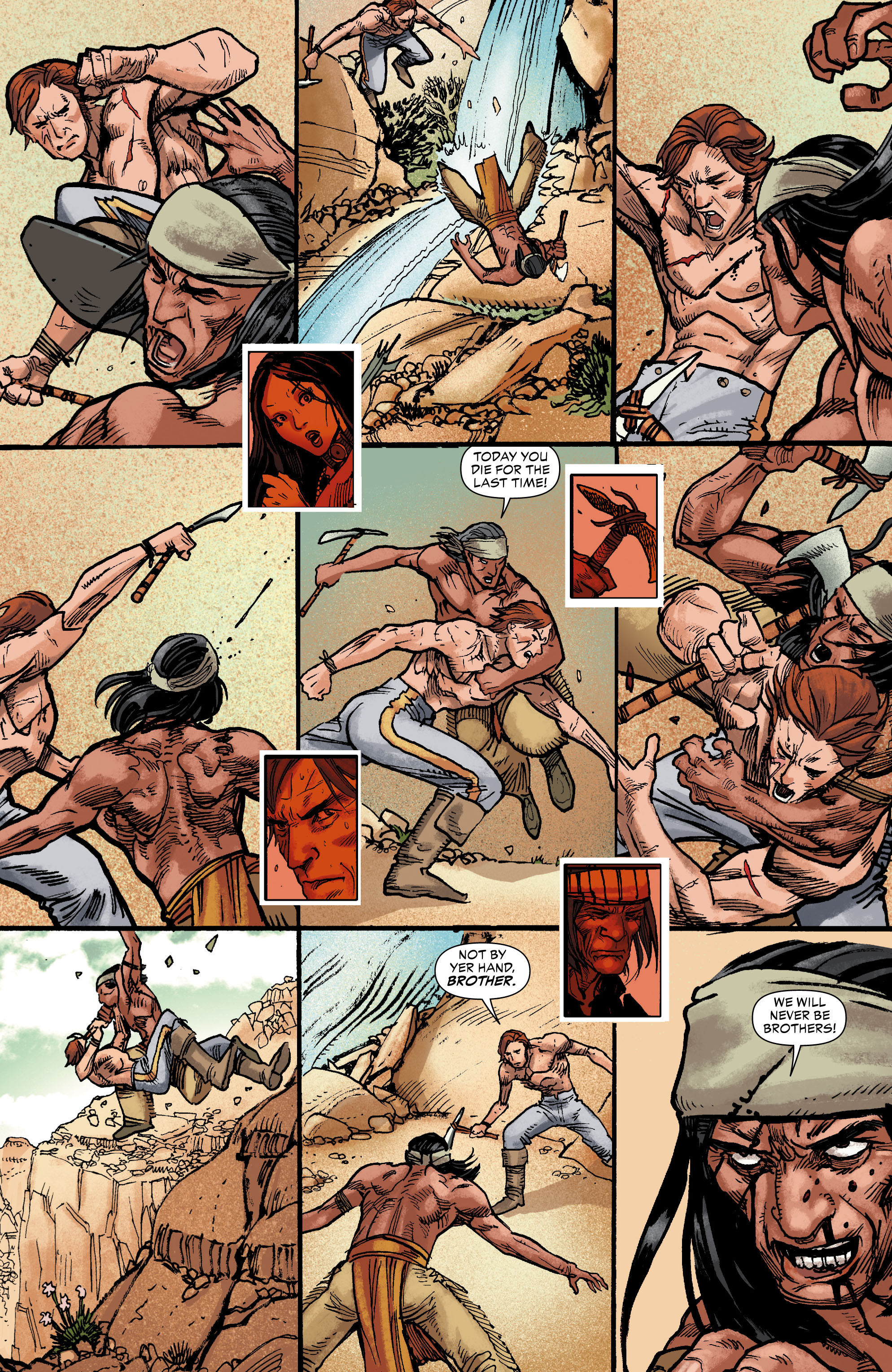 Read online All-Star Western (2011) comic -  Issue #0 - 24