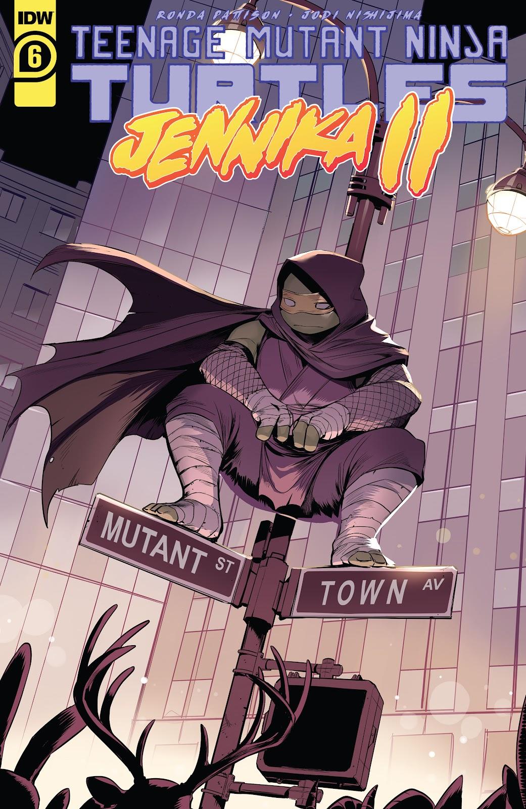 Teenage Mutant Ninja Turtles: Jennika II 6 Page 1