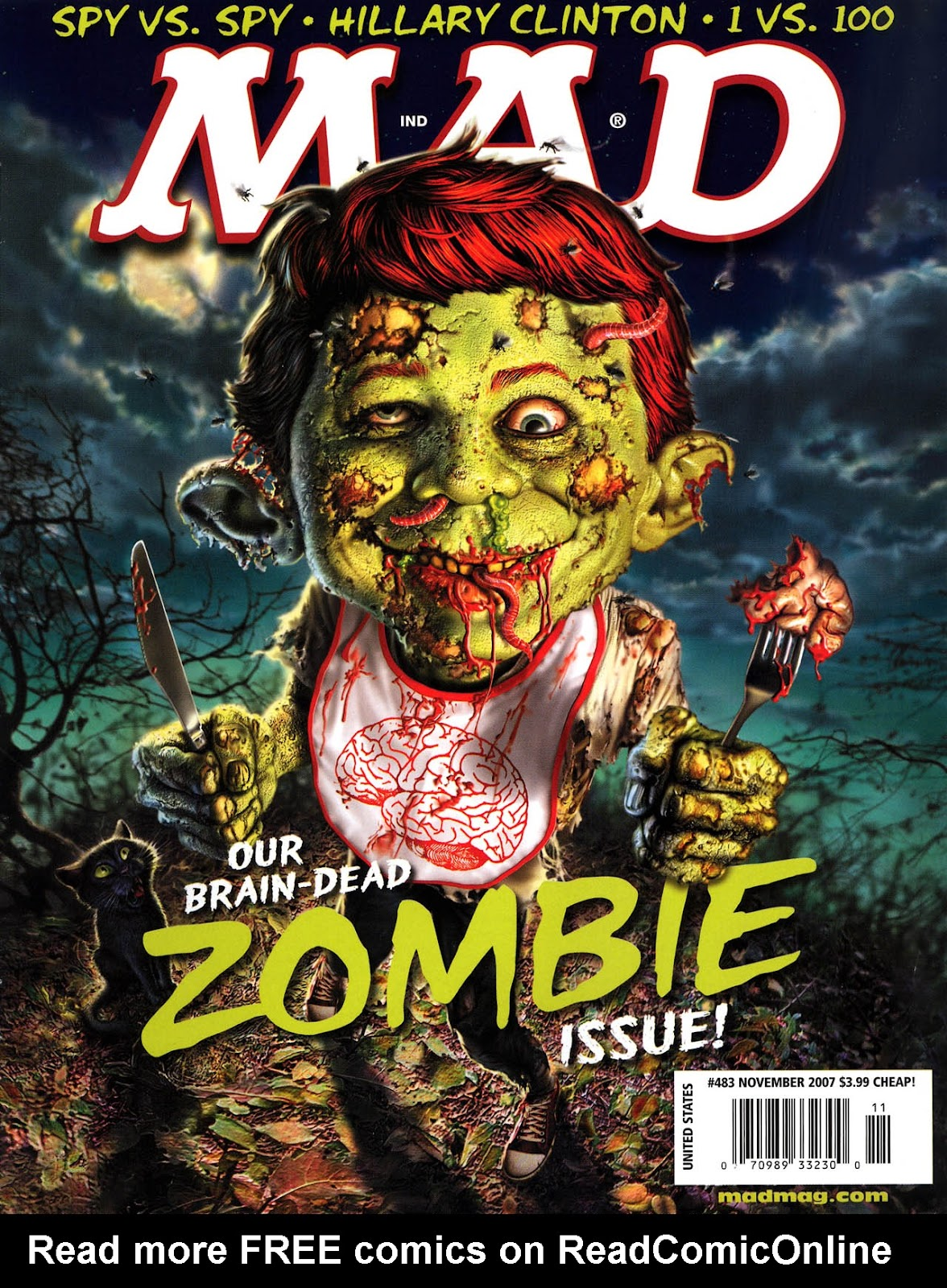 MAD issue 483 - Page 1