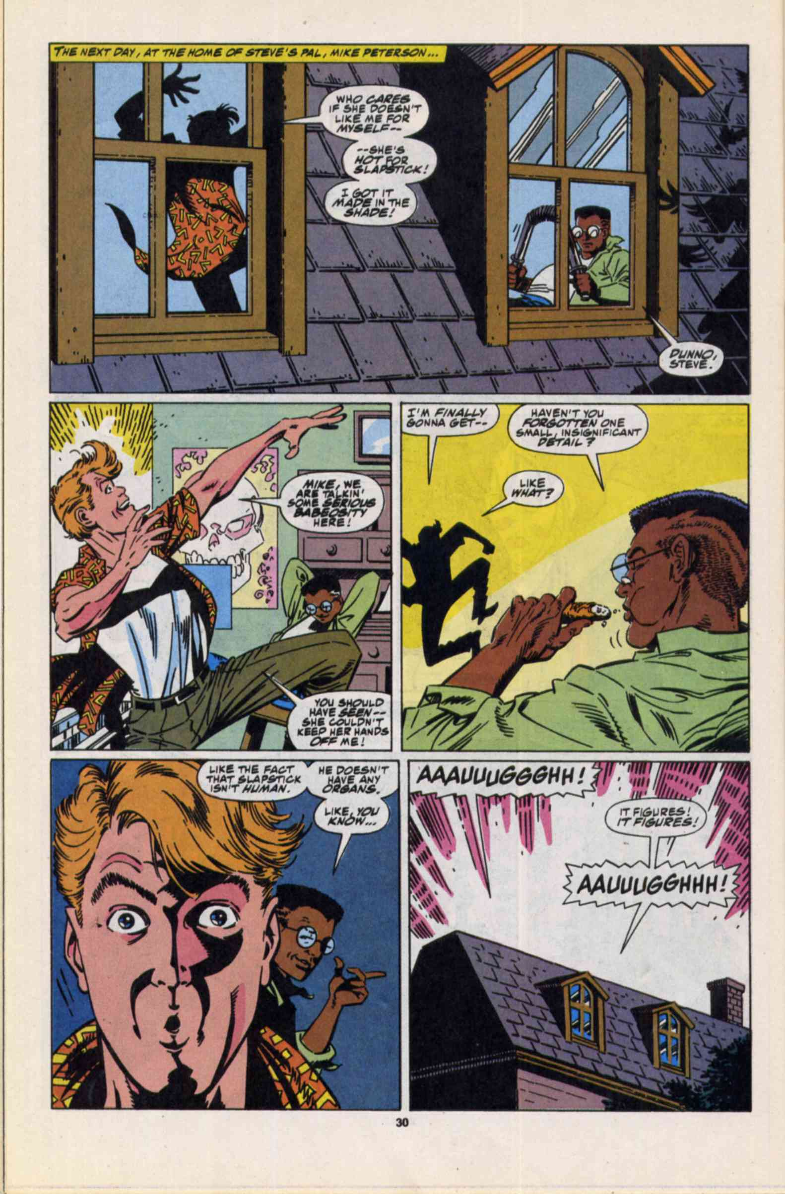 Read online Slapstick comic -  Issue #3 - 23