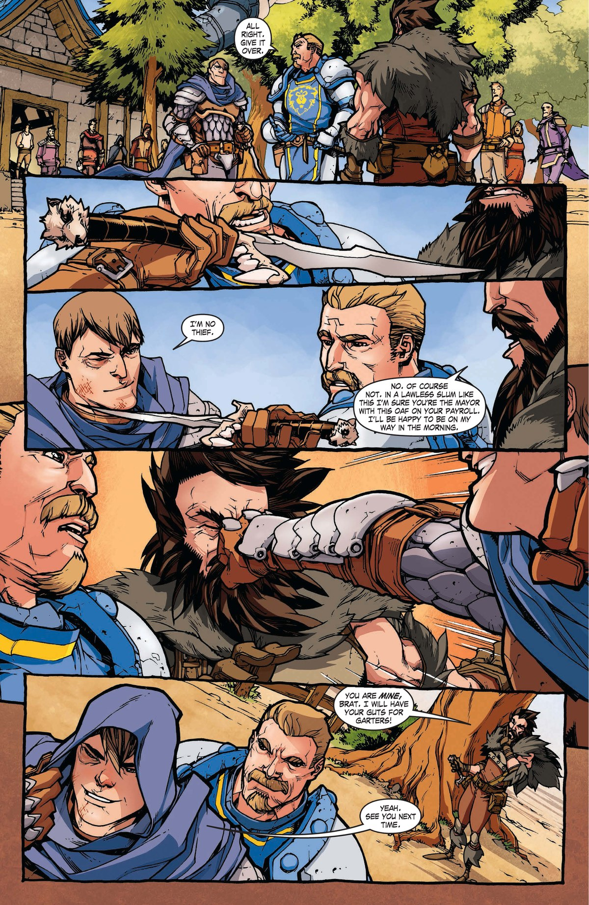 Read online World of Warcraft: Dark Riders comic -  Issue # Full - 12