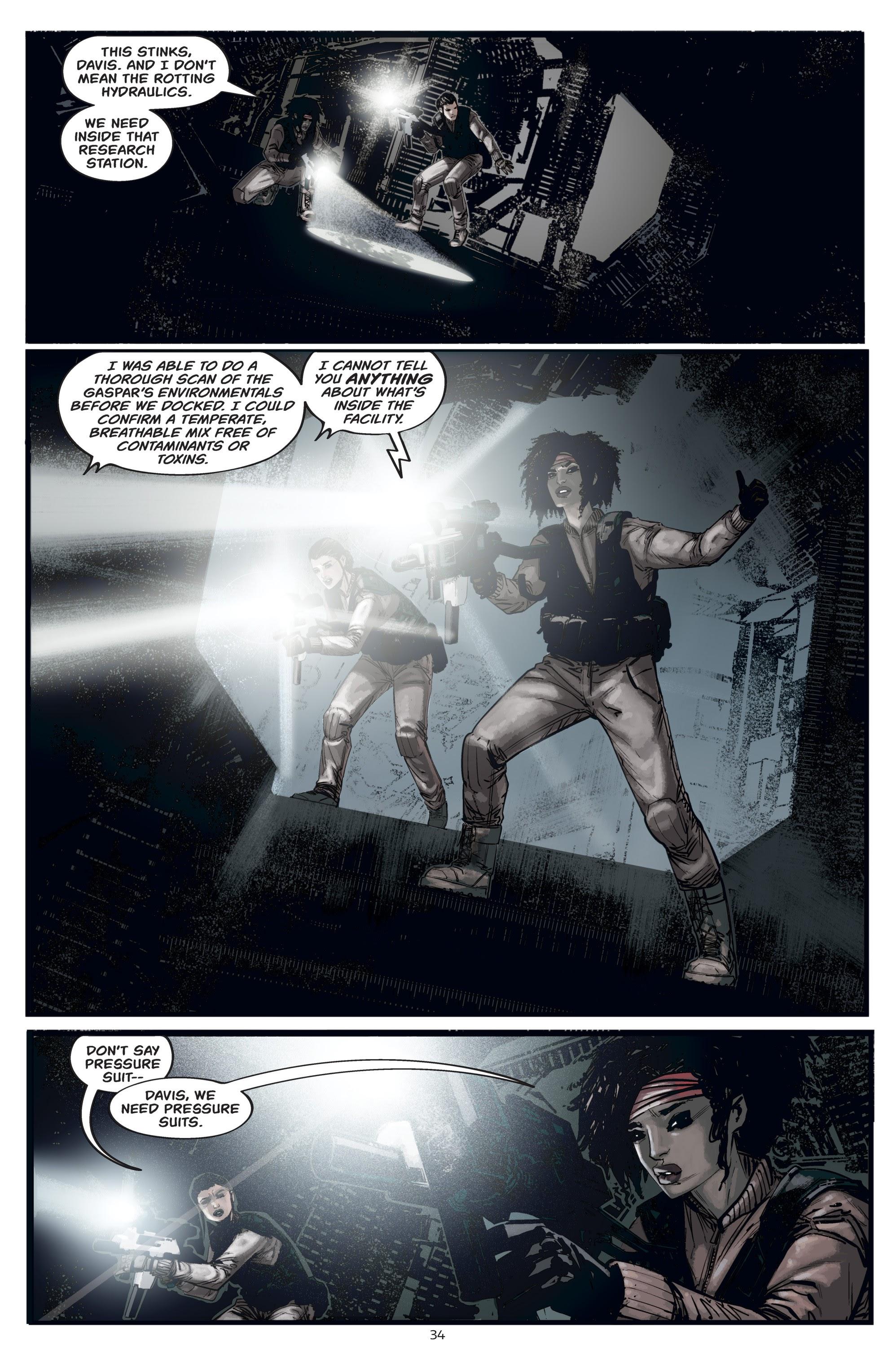 Read online Aliens: Resistance comic -  Issue # _TPB - 34