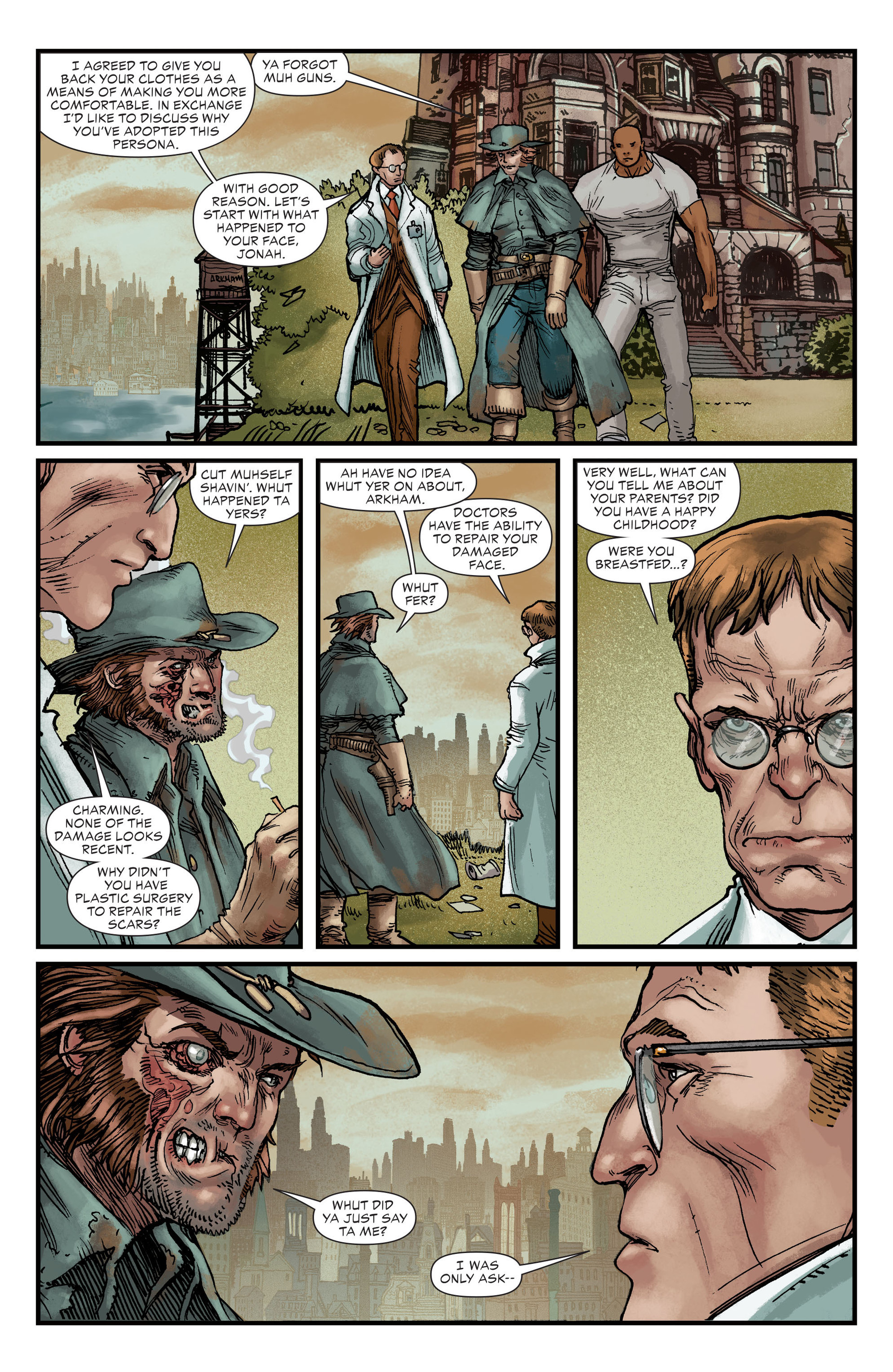 Read online All-Star Western (2011) comic -  Issue #22 - 13