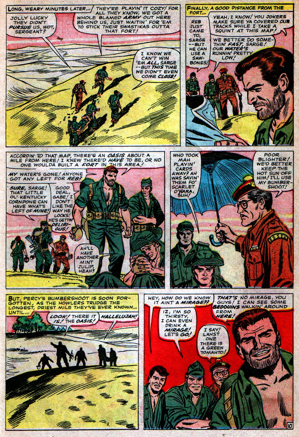 Read online Sgt. Fury comic -  Issue #16 - 15
