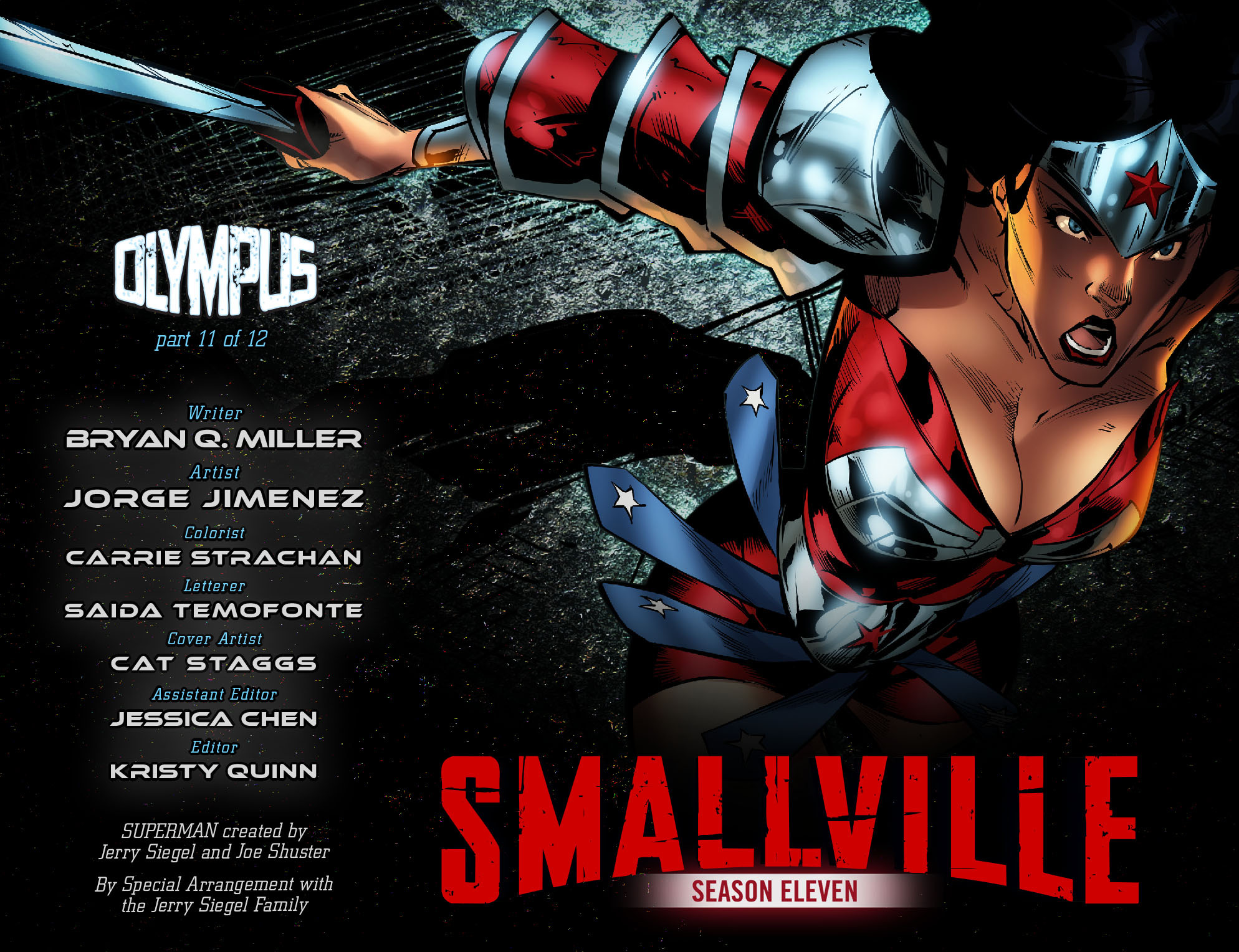 Read online Smallville: Season 11 comic -  Issue #68 - 2