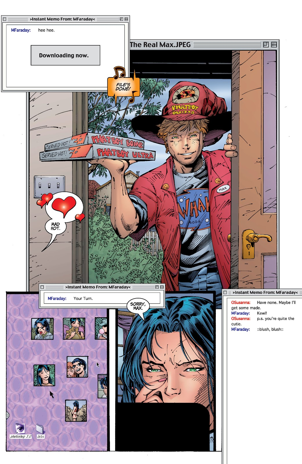 Read online Divine Right comic -  Issue # _TPB The Adventures of Max Faraday (Part 2) - 81
