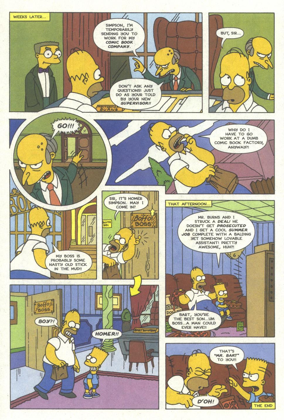 Read online Simpsons Comics comic -  Issue #13 - 23